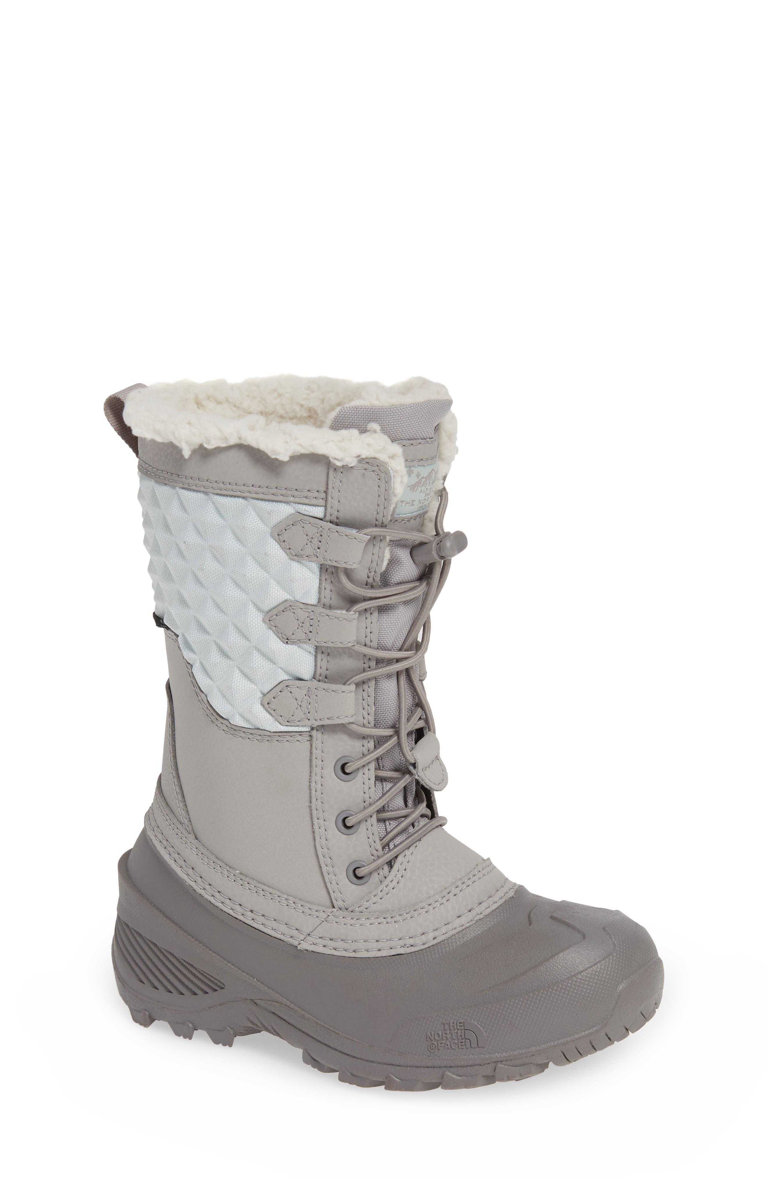 Shellista Lace III Faux Fur Waterproof Boot,                             Main thumbnail 1, color,                             030