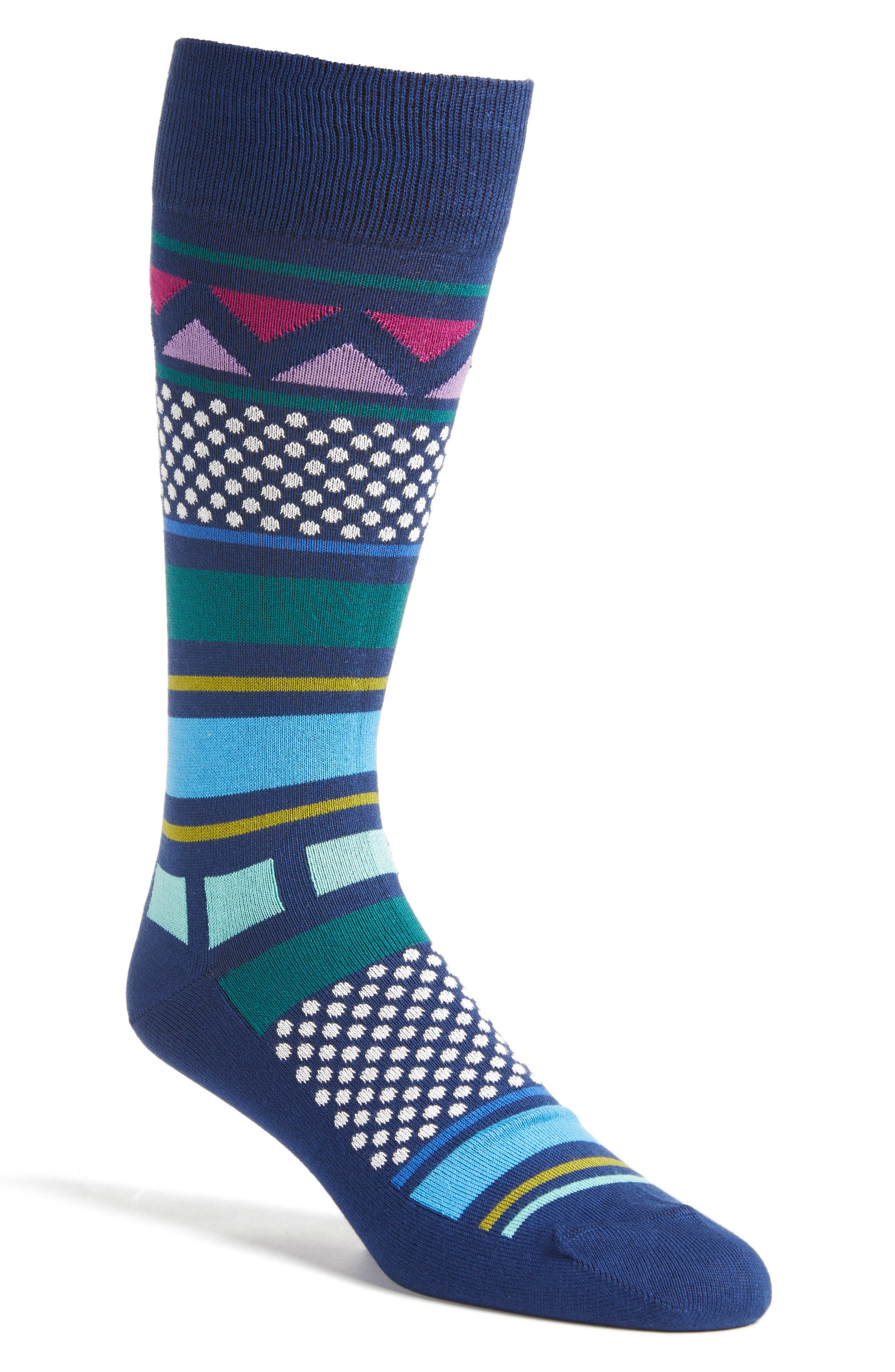 KWA Crew Socks,                             Main thumbnail 1, color,                             415