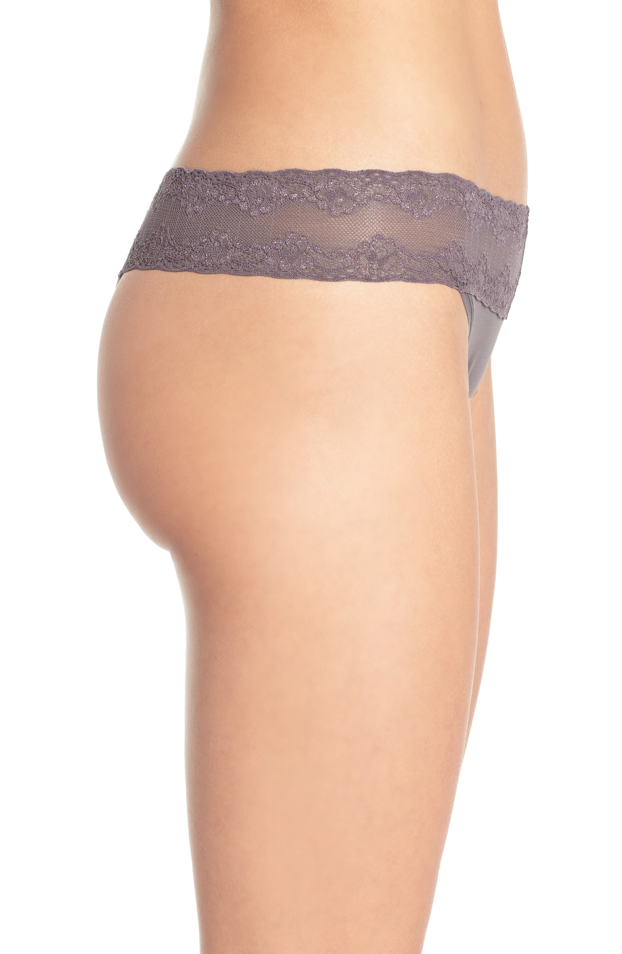 Bliss Perfection Thong,                             Alternate thumbnail 244, color,