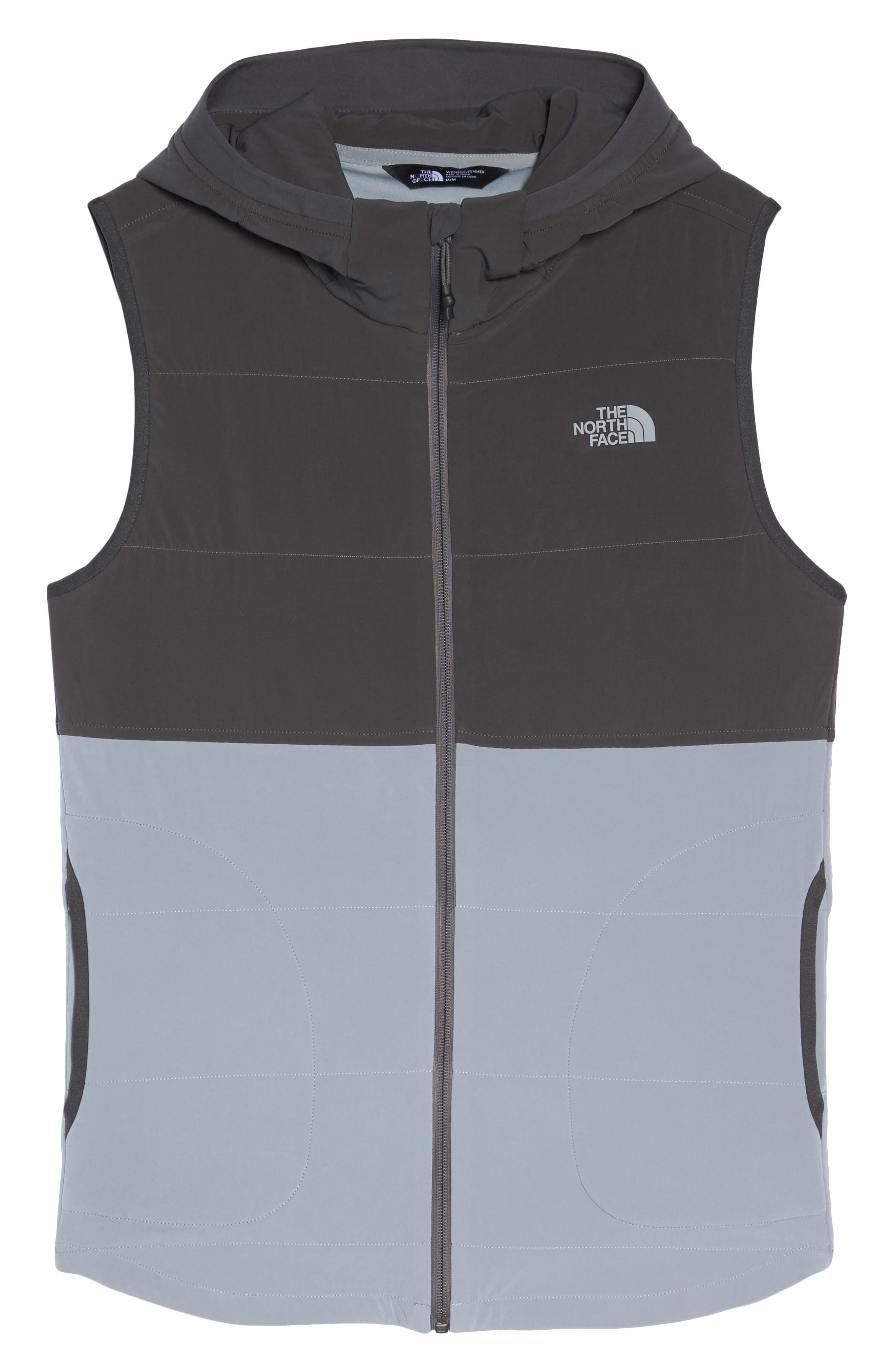 Mountain Sweatshirt Insulated Hooded Vest,                             Alternate thumbnail 19, color,