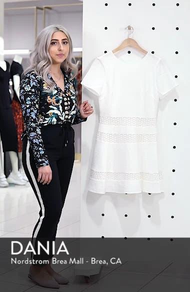 Mixed Media Fit & Flare Dress, sales video thumbnail