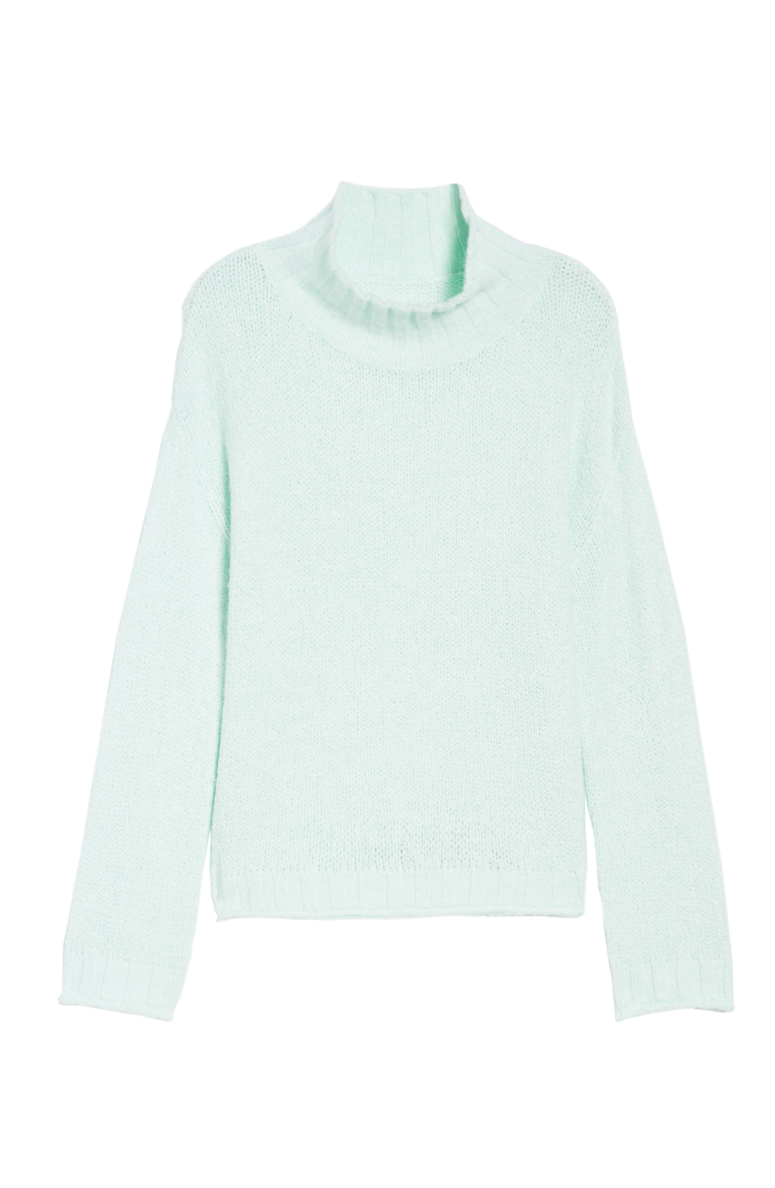 Cozy Mock Neck Sweater,                             Alternate thumbnail 6, color,                             330