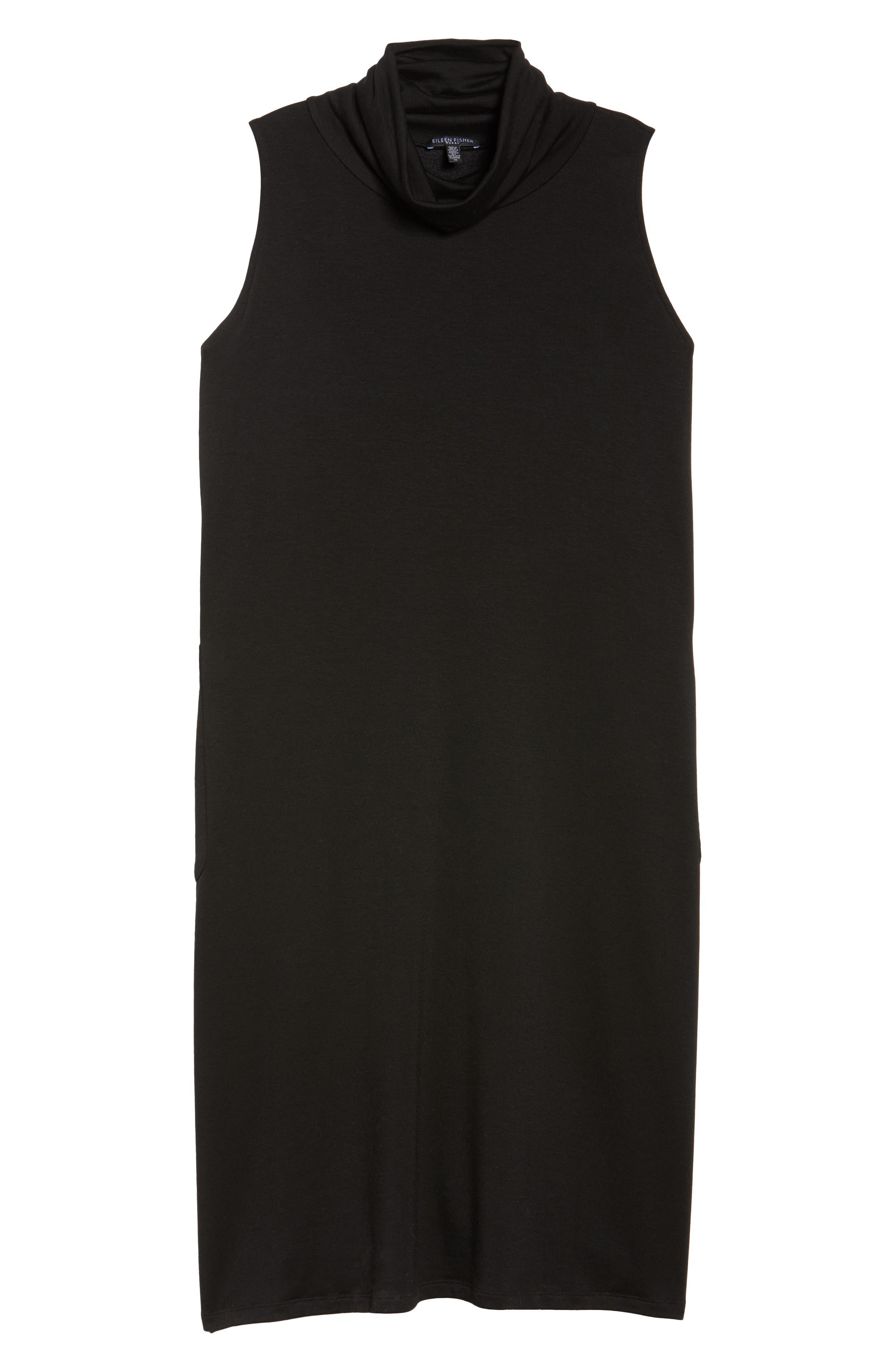 Stretch Tencel<sup>®</sup> Knit Jumper Dress,                             Alternate thumbnail 16, color,