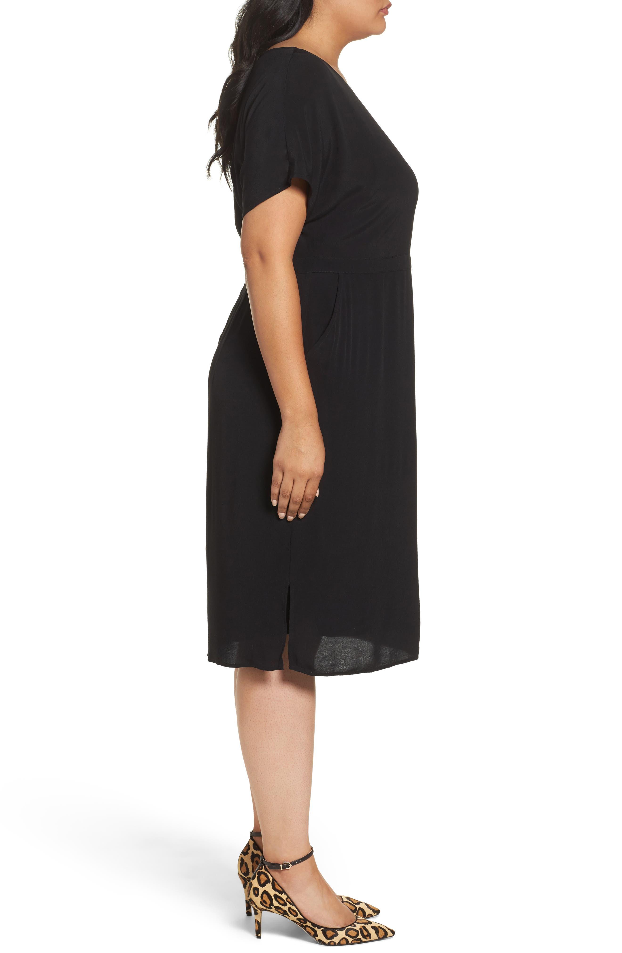 Dolman Sleeve Shift Dress,                             Alternate thumbnail 5, color,