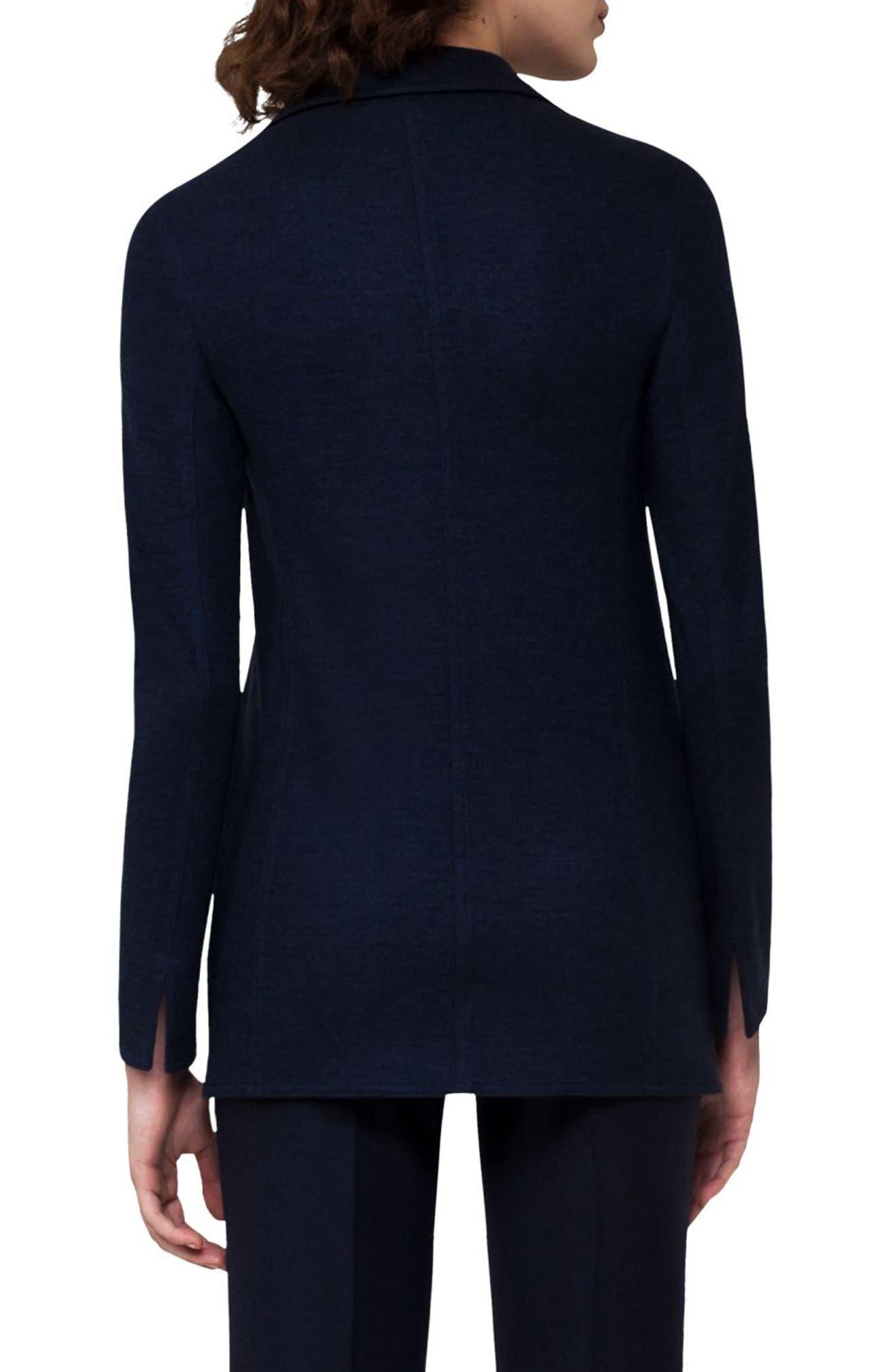 Cashmere Blend Jersey Jacket,                             Alternate thumbnail 2, color,                             400