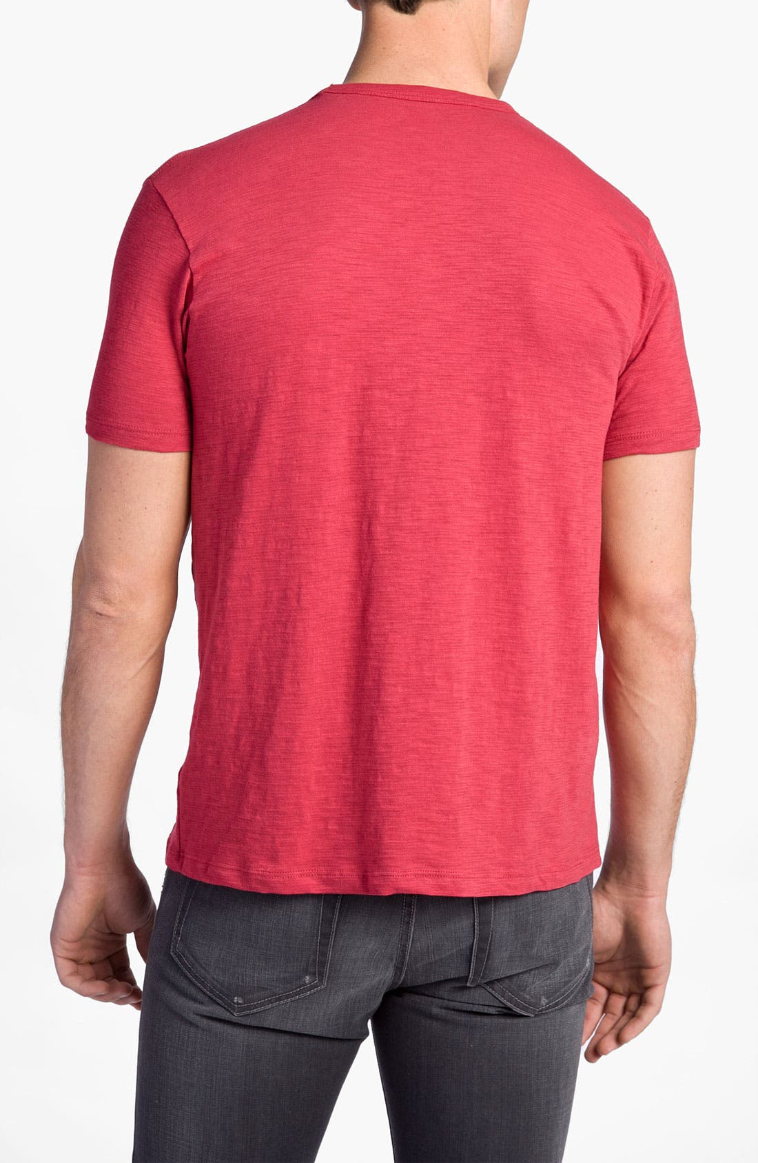 'Chicago Cubs' Regular Fit Crewneck T-Shirt,                             Alternate thumbnail 71, color,