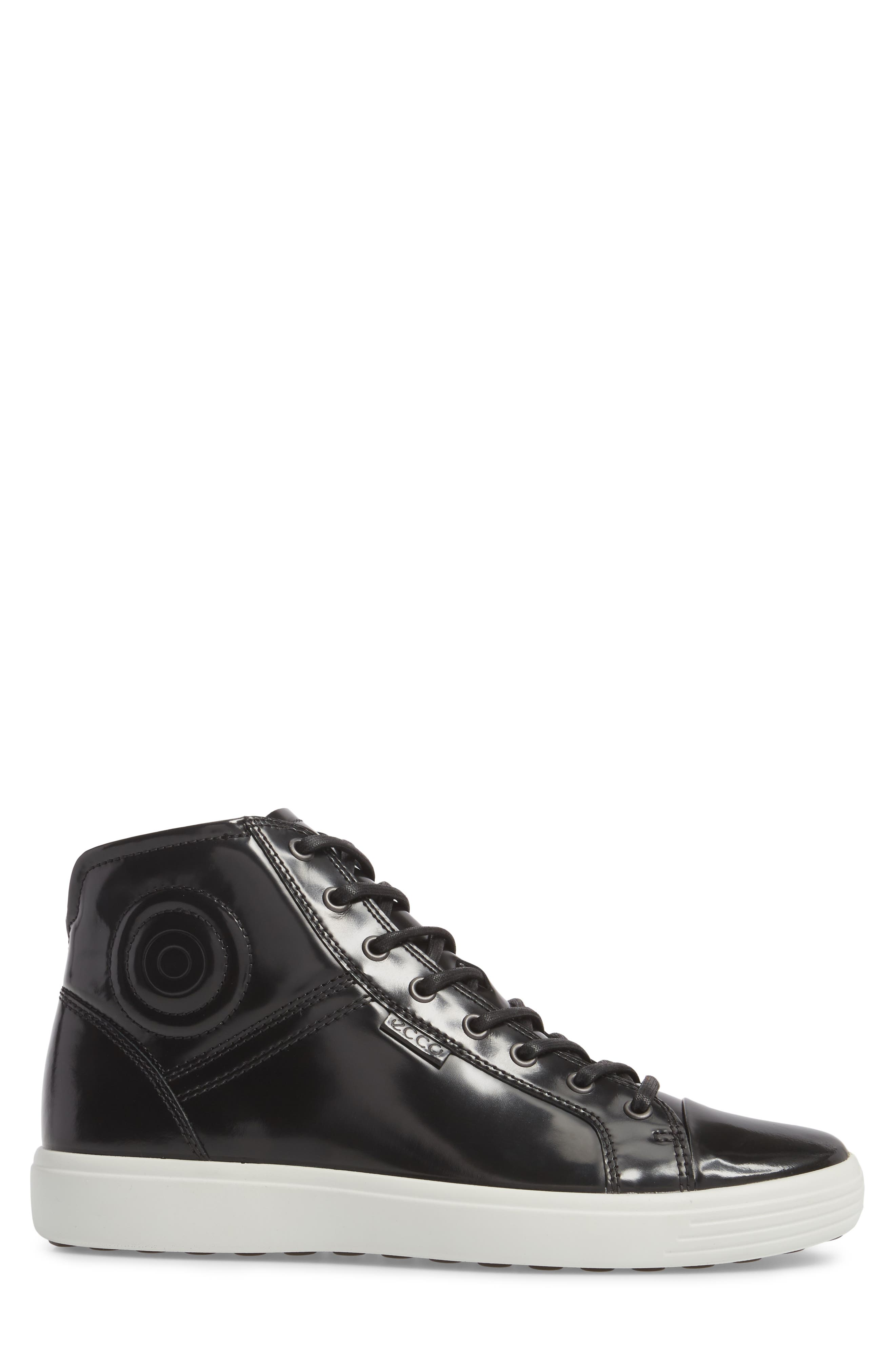Soft 7 Premium High Top Sneaker,                             Alternate thumbnail 3, color,                             009