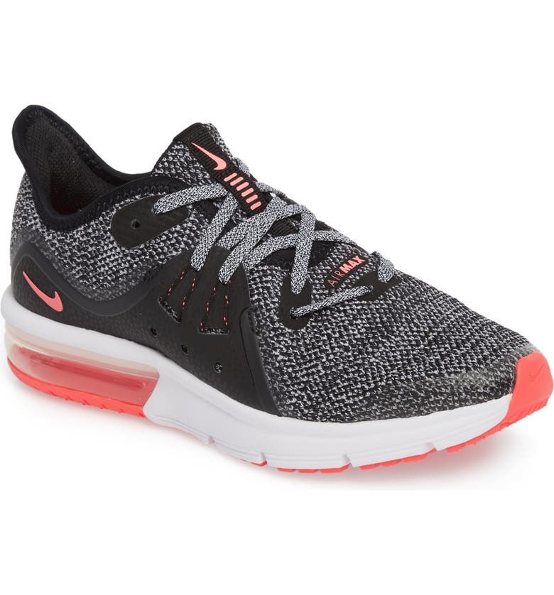 premium selection 4ed99 ecf29 NIKE Air Max Sequent 3 GS Running Shoe, Main, color, 001