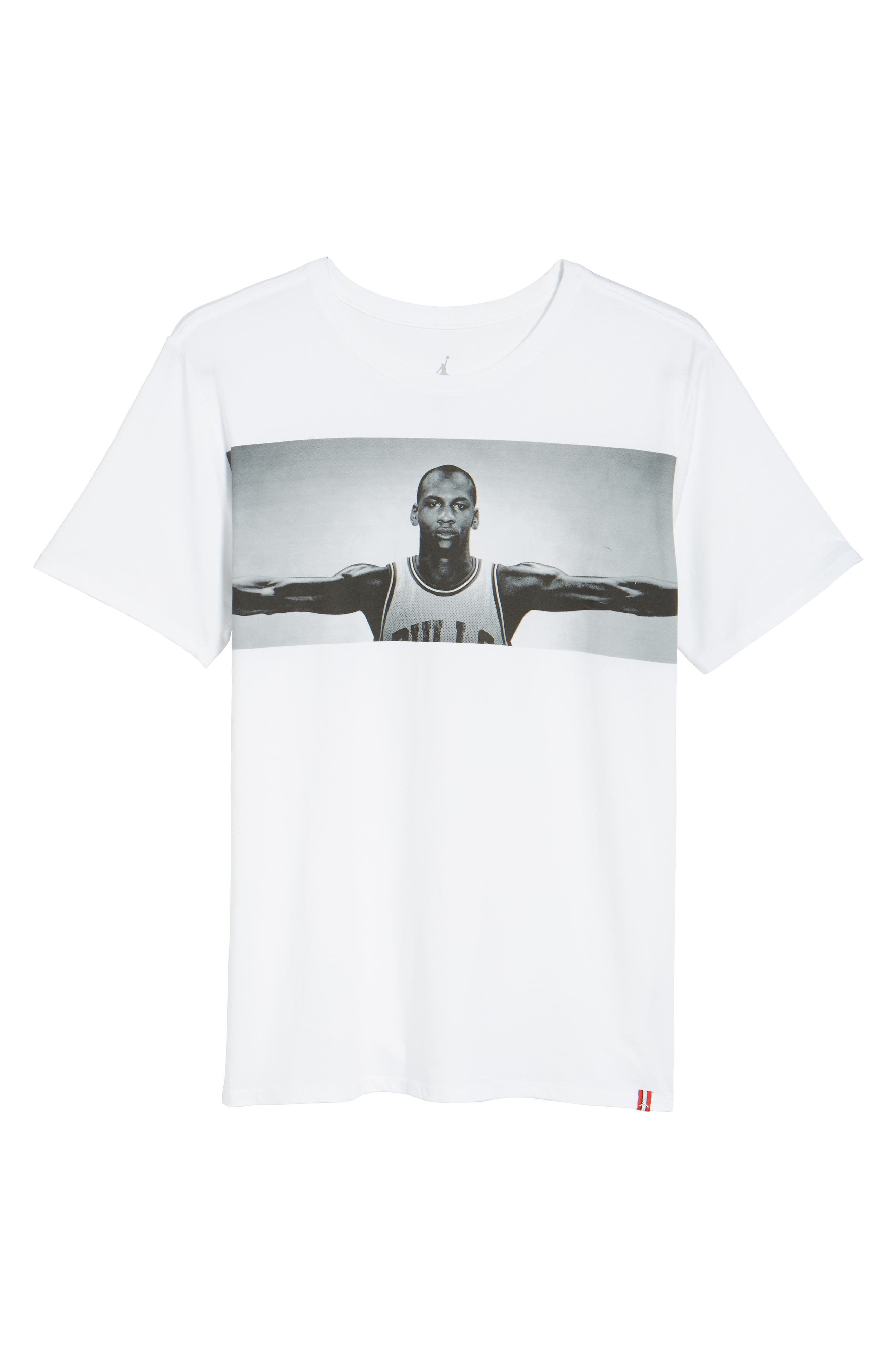 Wings Graphic T-Shirt,                             Alternate thumbnail 6, color,                             100