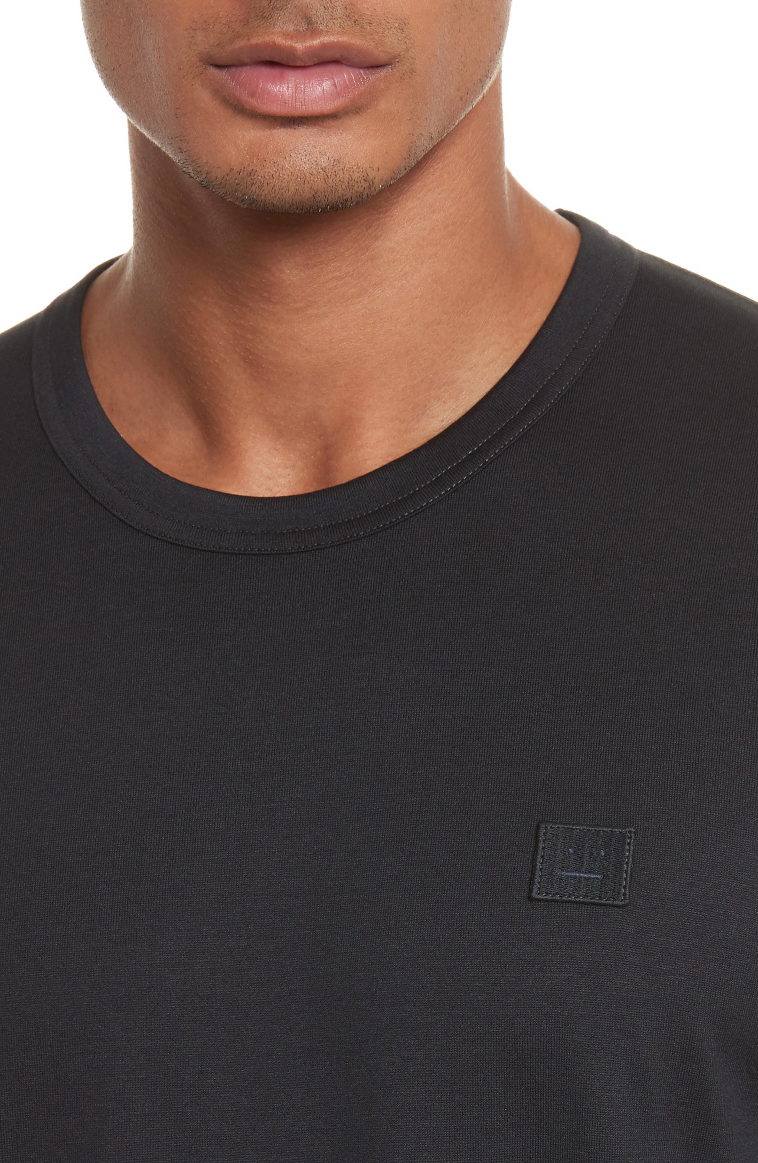 Nash Face T-Shirt,                             Alternate thumbnail 4, color,                             001