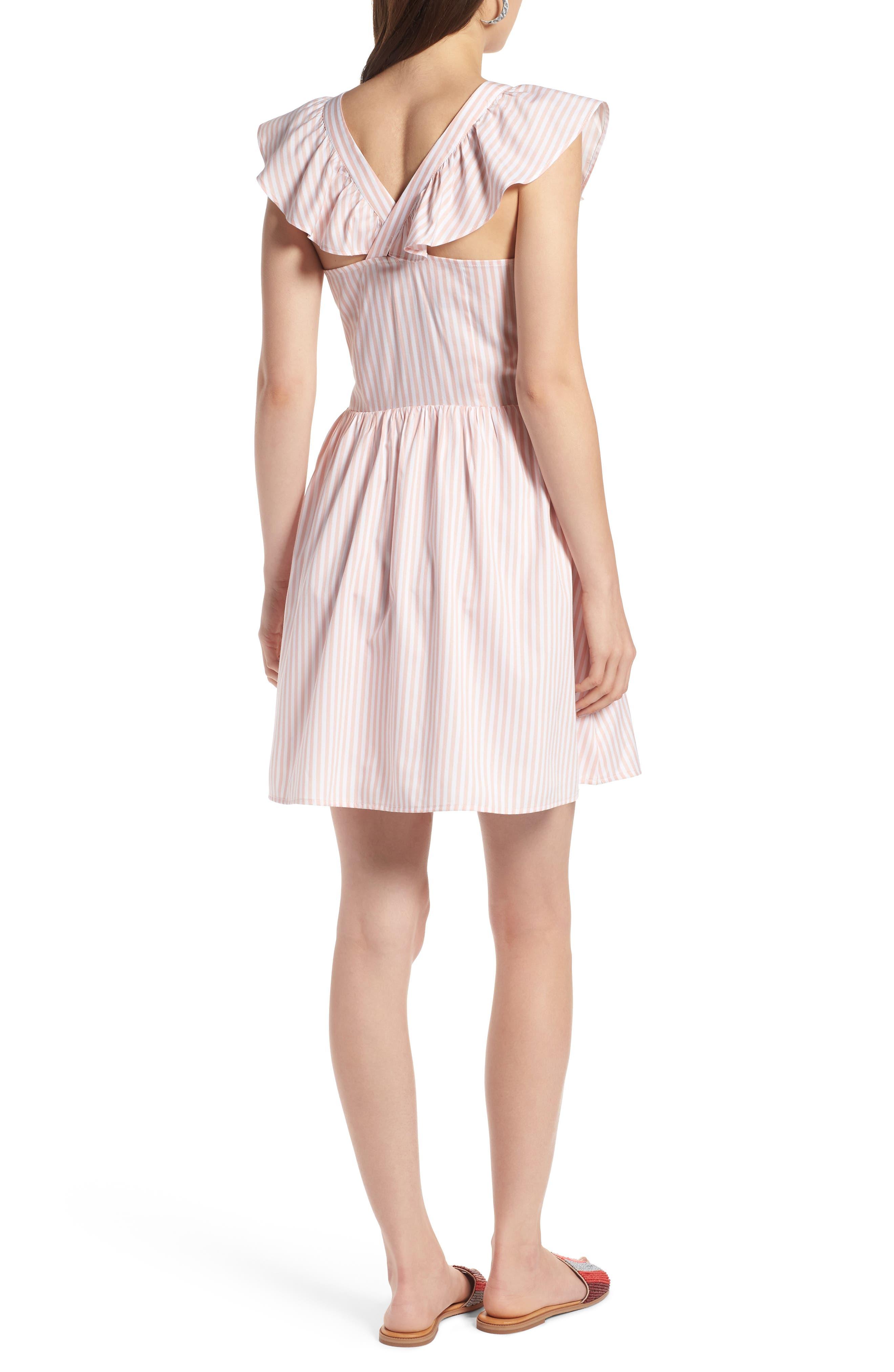 Ruffle Dress,                             Alternate thumbnail 2, color,                             660