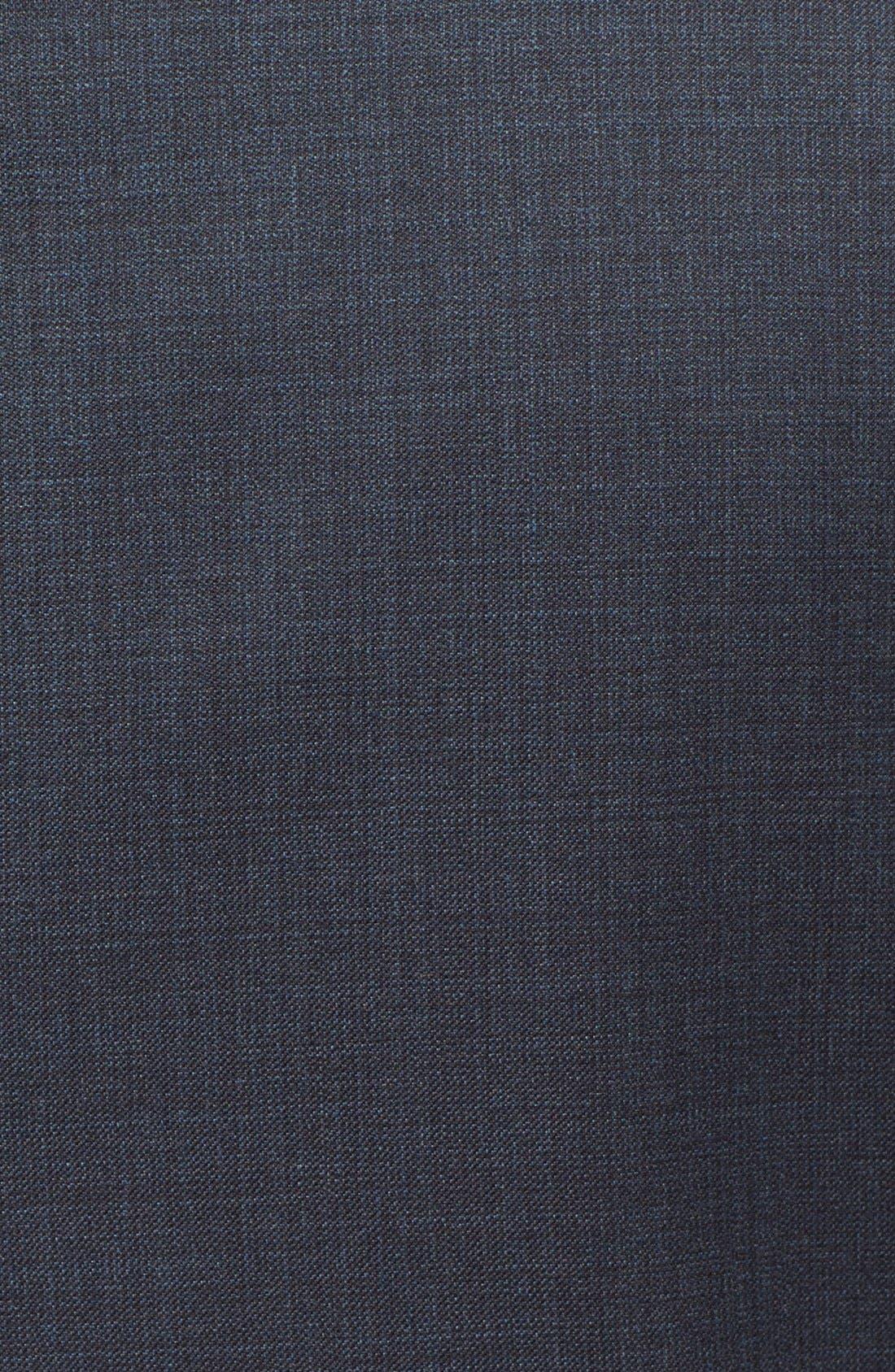 'G-Line' Trim Fit Solid Wool Suit,                             Alternate thumbnail 6, color,                             410