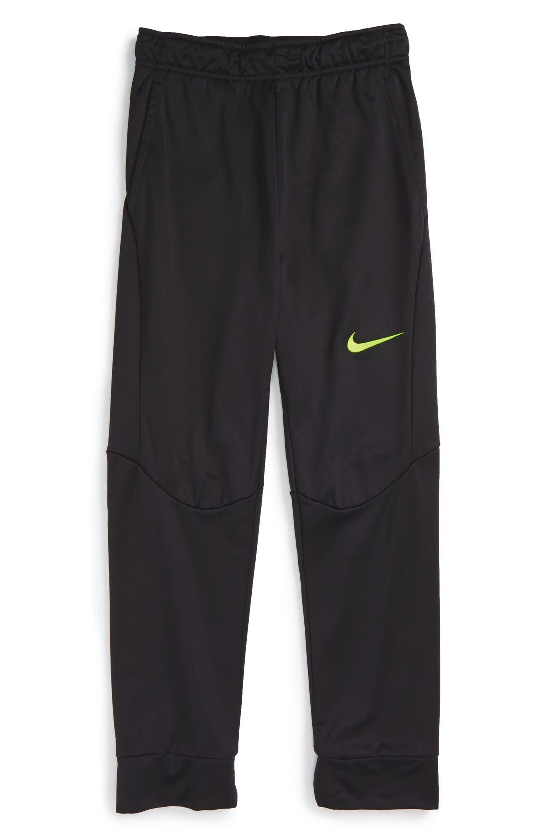 Therma-FIT Tapered Fleece Pants,                             Main thumbnail 2, color,