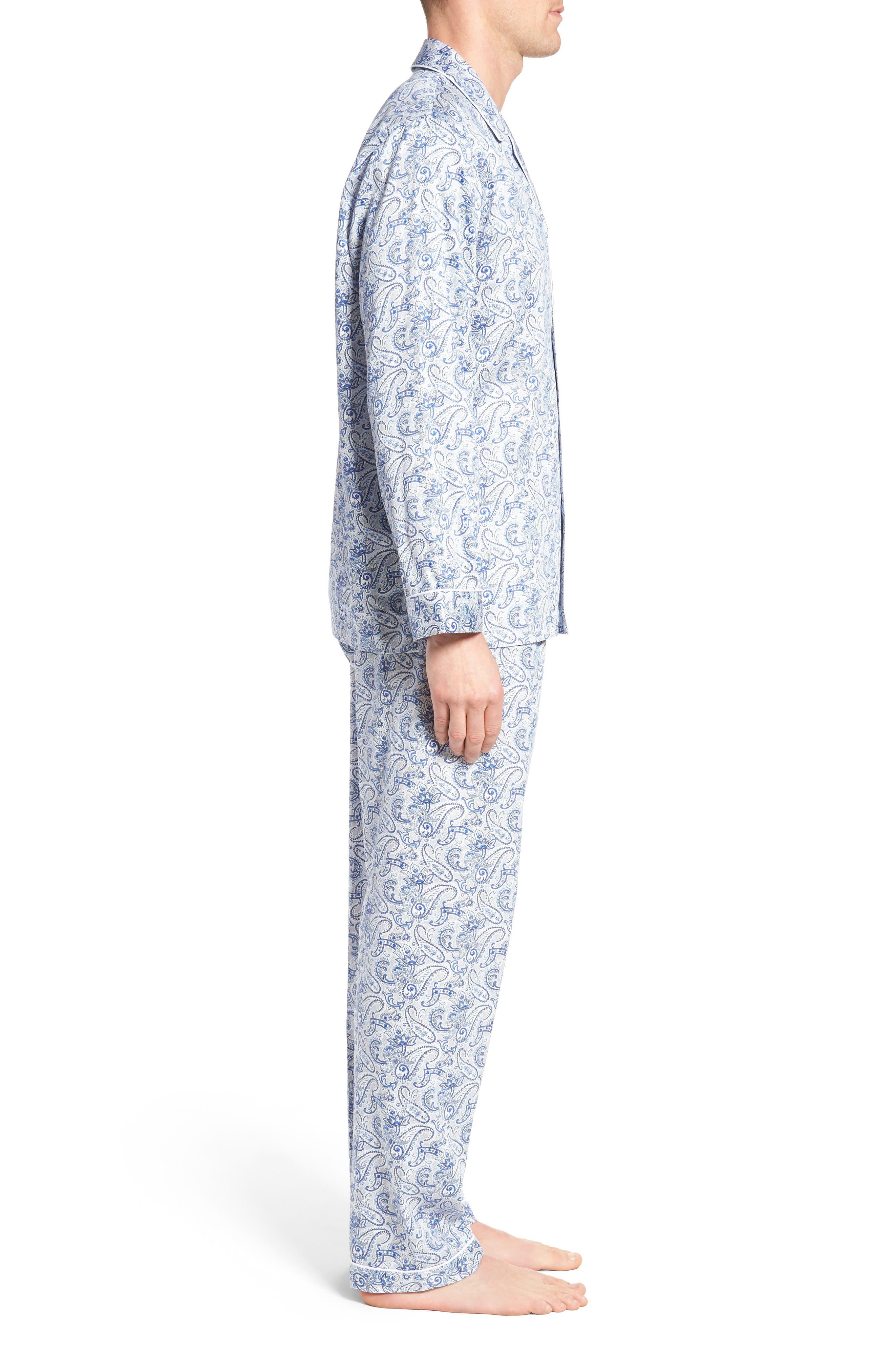 Sateen Pajamas,                             Alternate thumbnail 3, color,                             410