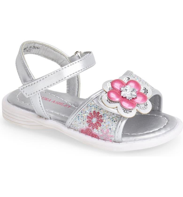 46c9ff6ef1d3b Laura Ashley Flower Sandal (Walker   Toddler)