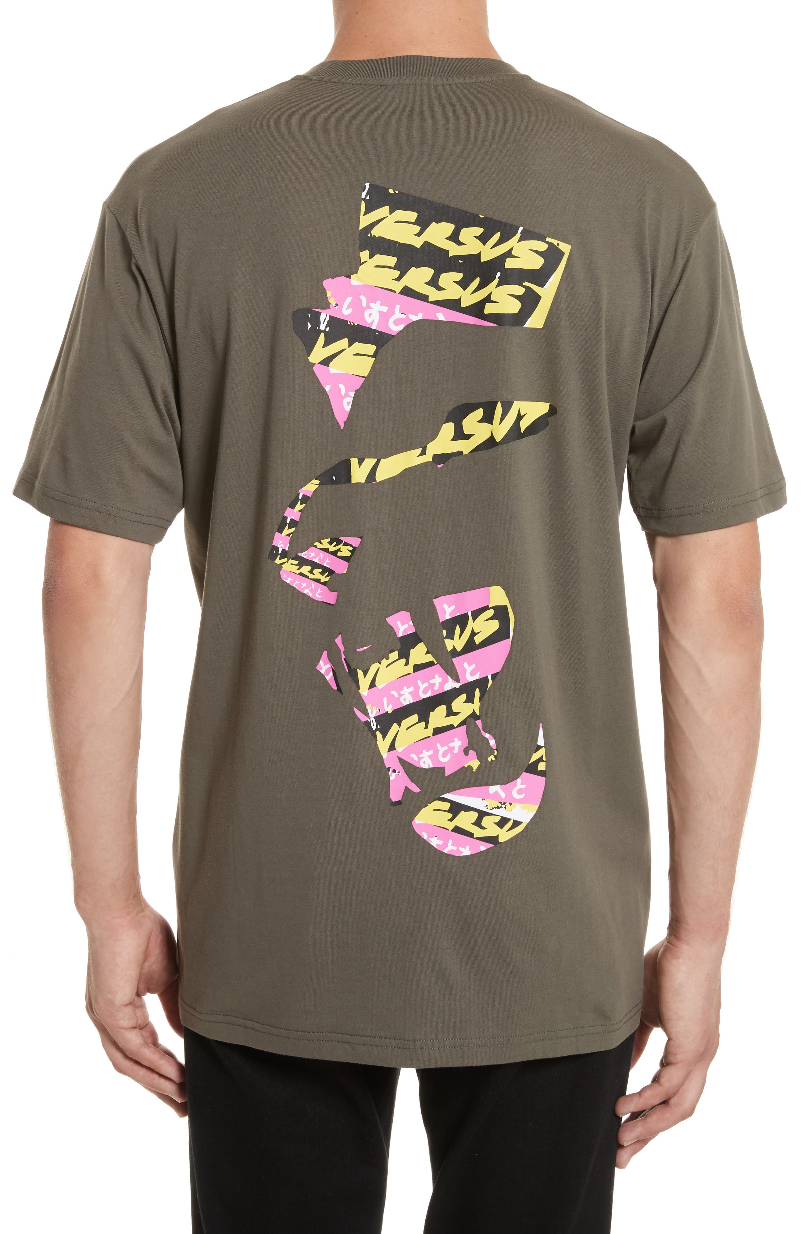 VERSUS by Versace Logo Graphic T-Shirt,                             Alternate thumbnail 2, color,                             344