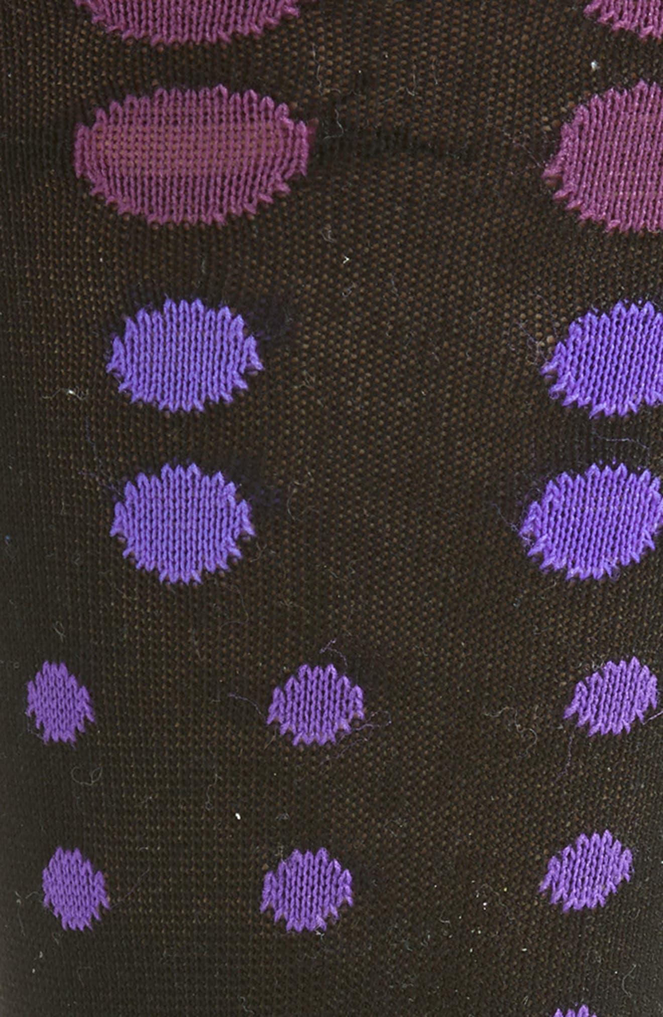 Gradient Spot Crew Socks,                             Alternate thumbnail 2, color,                             001