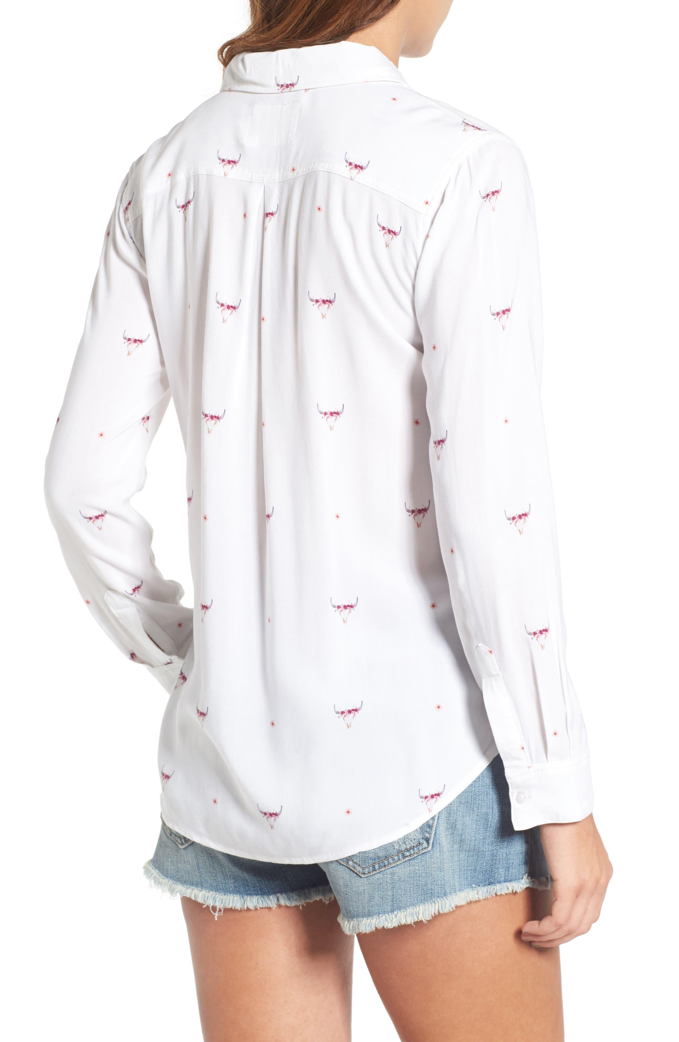 Rocsi Print Shirt,                             Alternate thumbnail 2, color,                             131