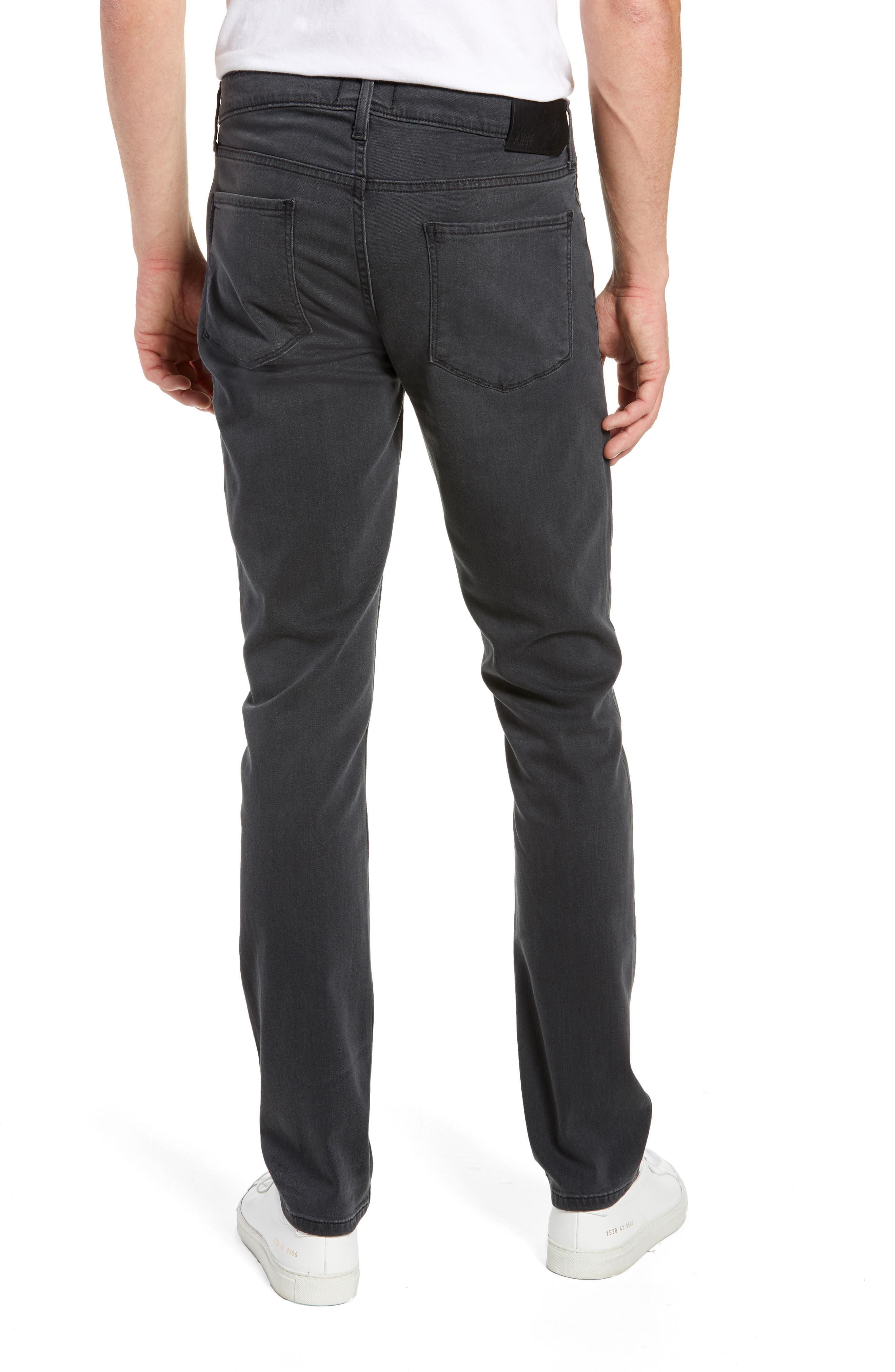 Transcend - Lennox Slim Fit Jeans,                             Alternate thumbnail 2, color,                             SHELDON
