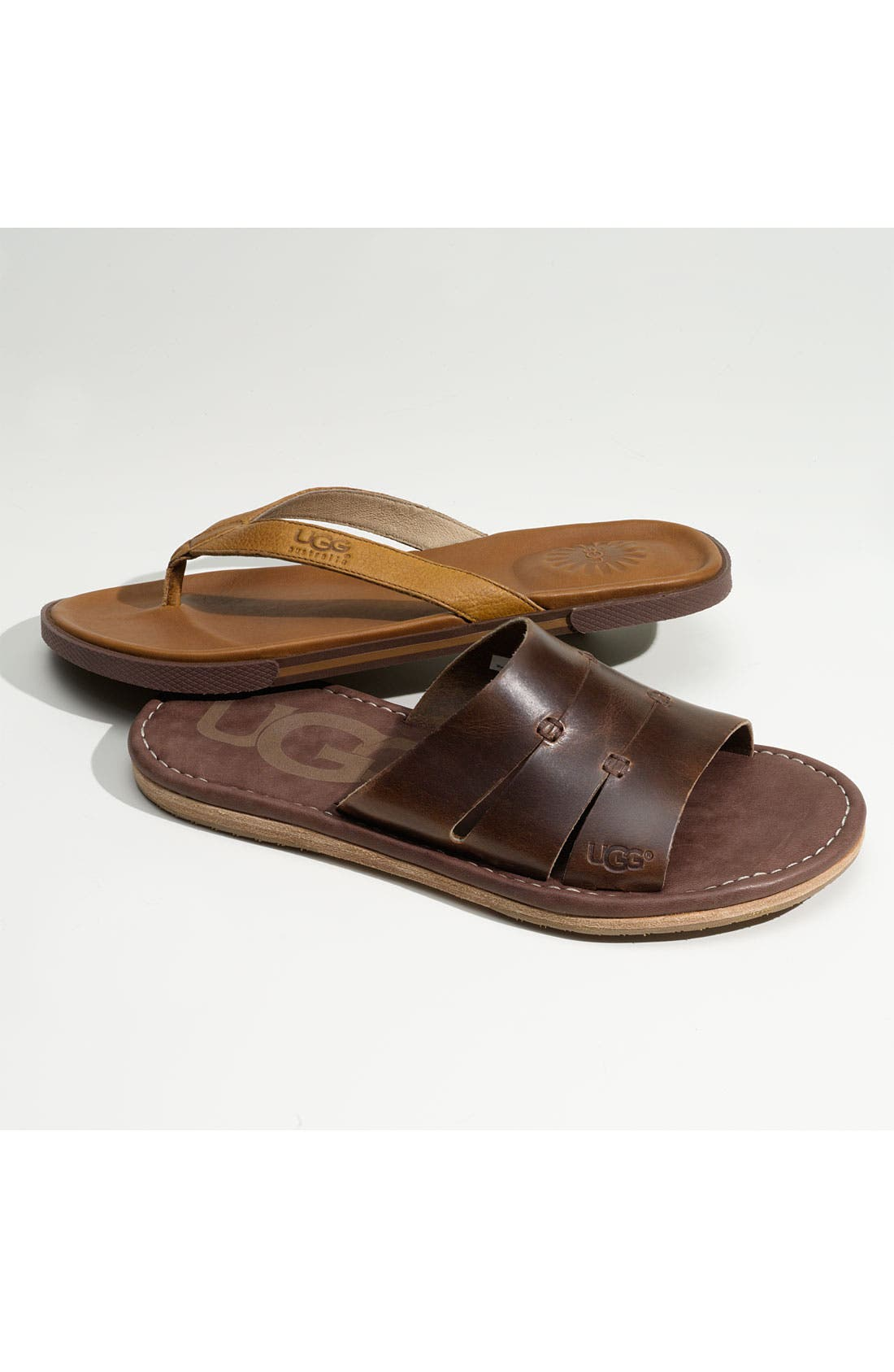 UGG<SUP>®</SUP>,                             Australia 'Bennison' Flip Flop,                             Alternate thumbnail 2, color,                             001
