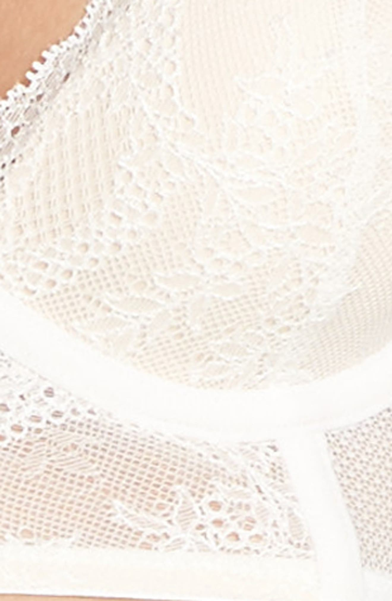 Lacy Glam Underwire Longline Bra,                             Alternate thumbnail 14, color,