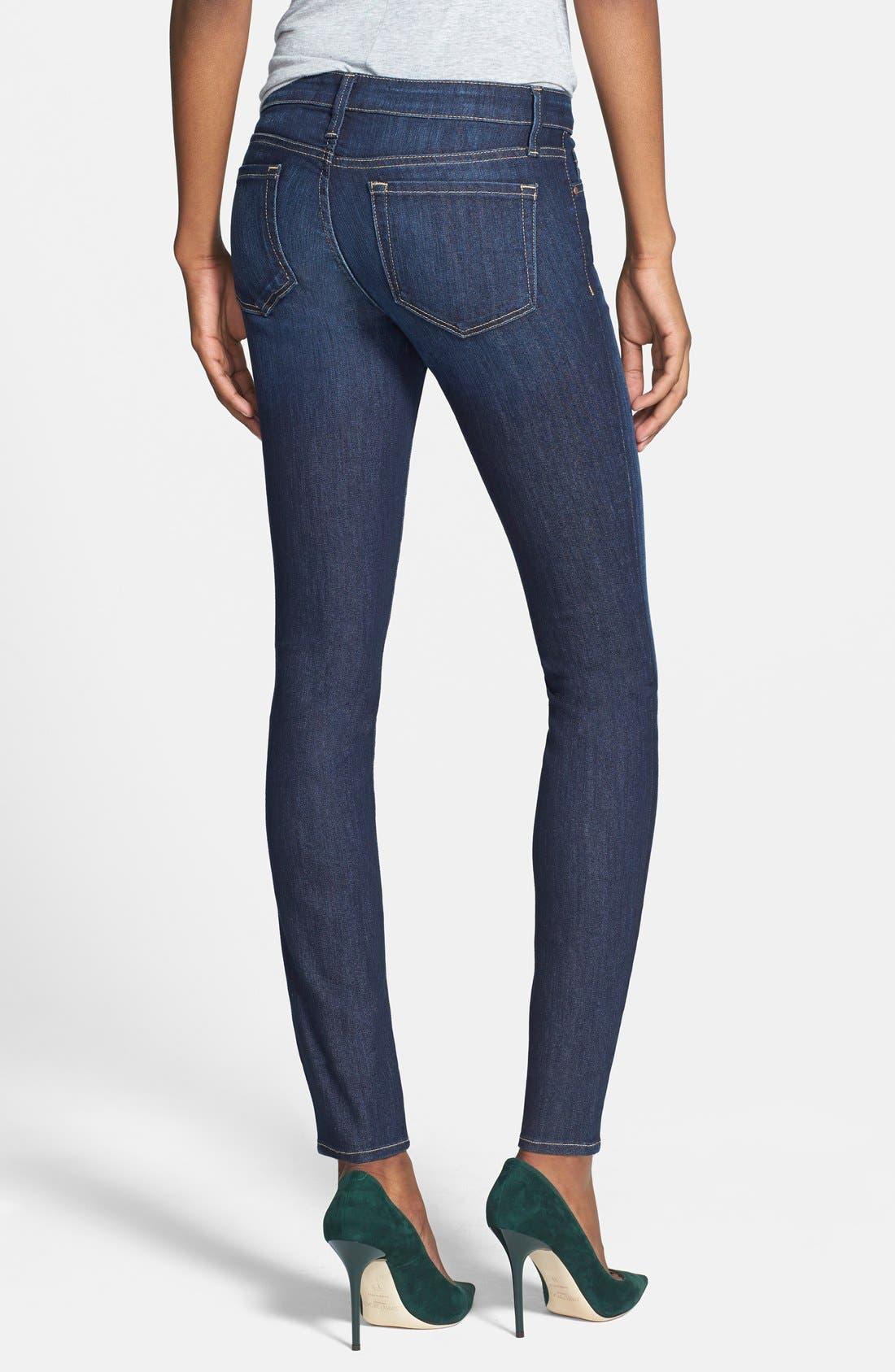 Low Rise Skinny Jeans,                             Alternate thumbnail 8, color,