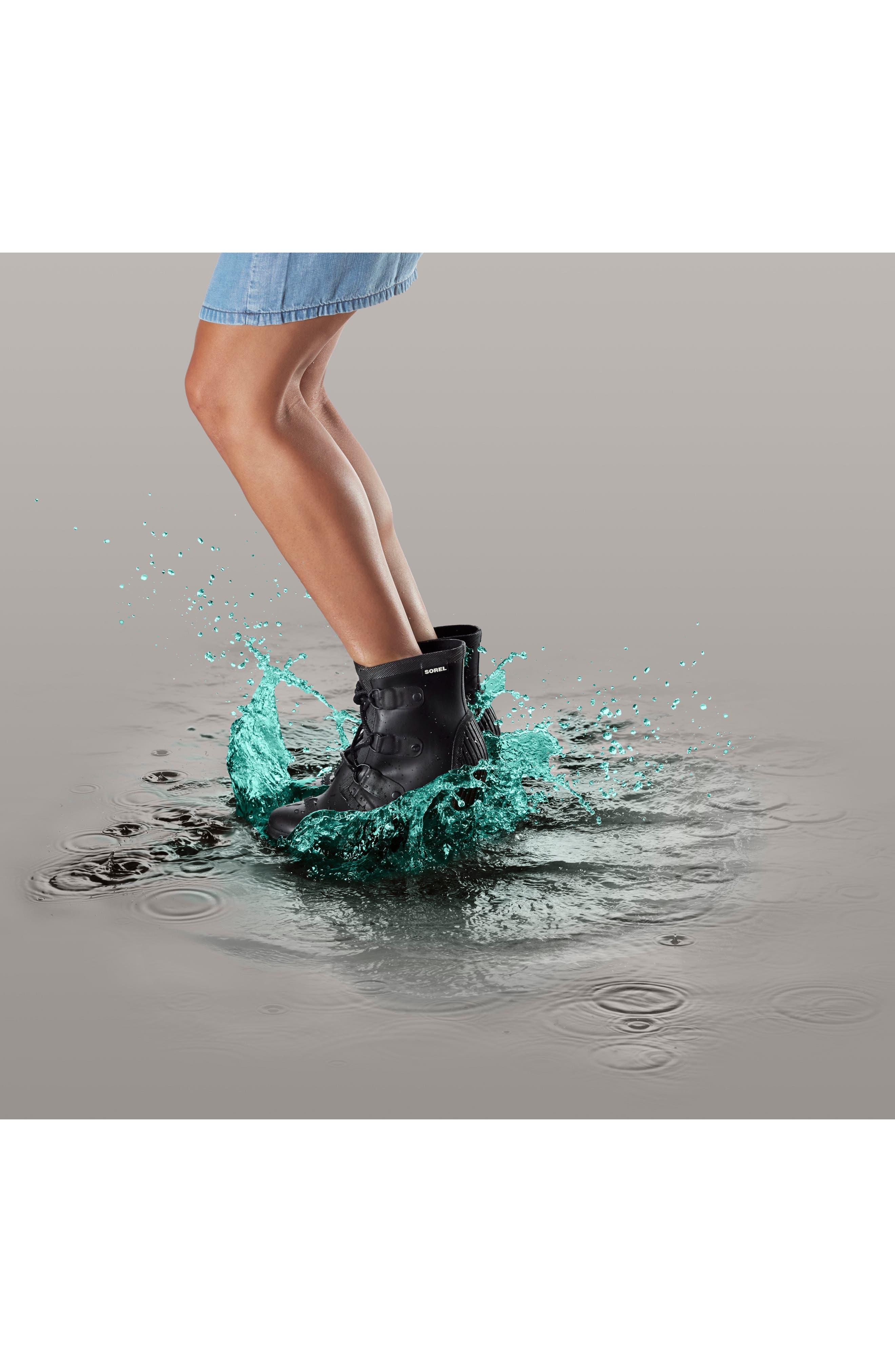 Joan Wedge Rain Boot,                             Alternate thumbnail 13, color,