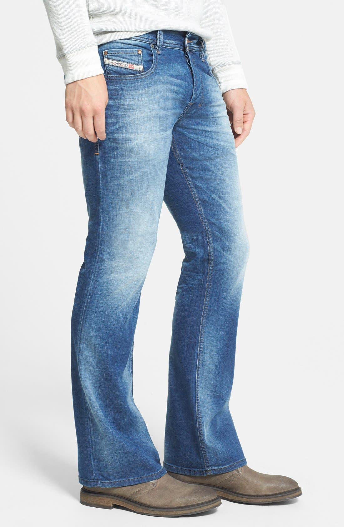Zathan Bootcut Jeans,                             Alternate thumbnail 5, color,                             499