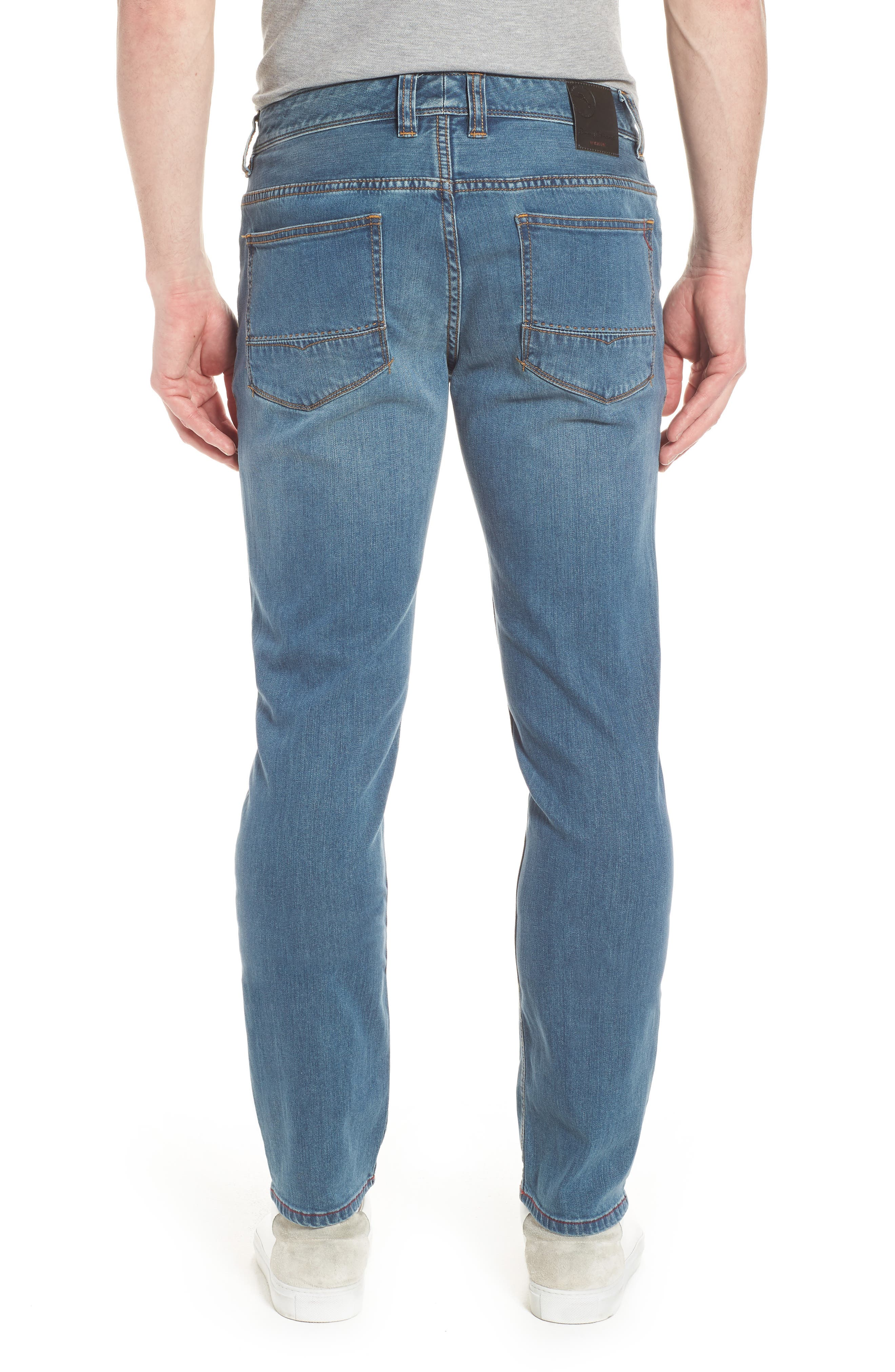 Vintage Fit Jeans,                             Alternate thumbnail 2, color,                             VINTAGE WASH