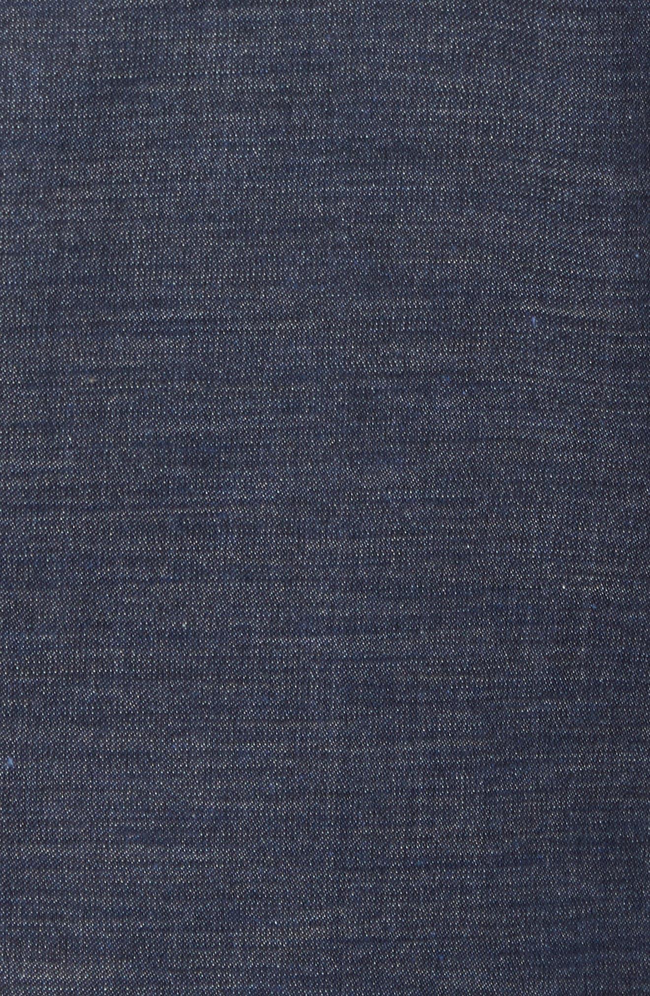 Kyle Trim Fit Wool & Cotton Blazer,                             Alternate thumbnail 6, color,                             400