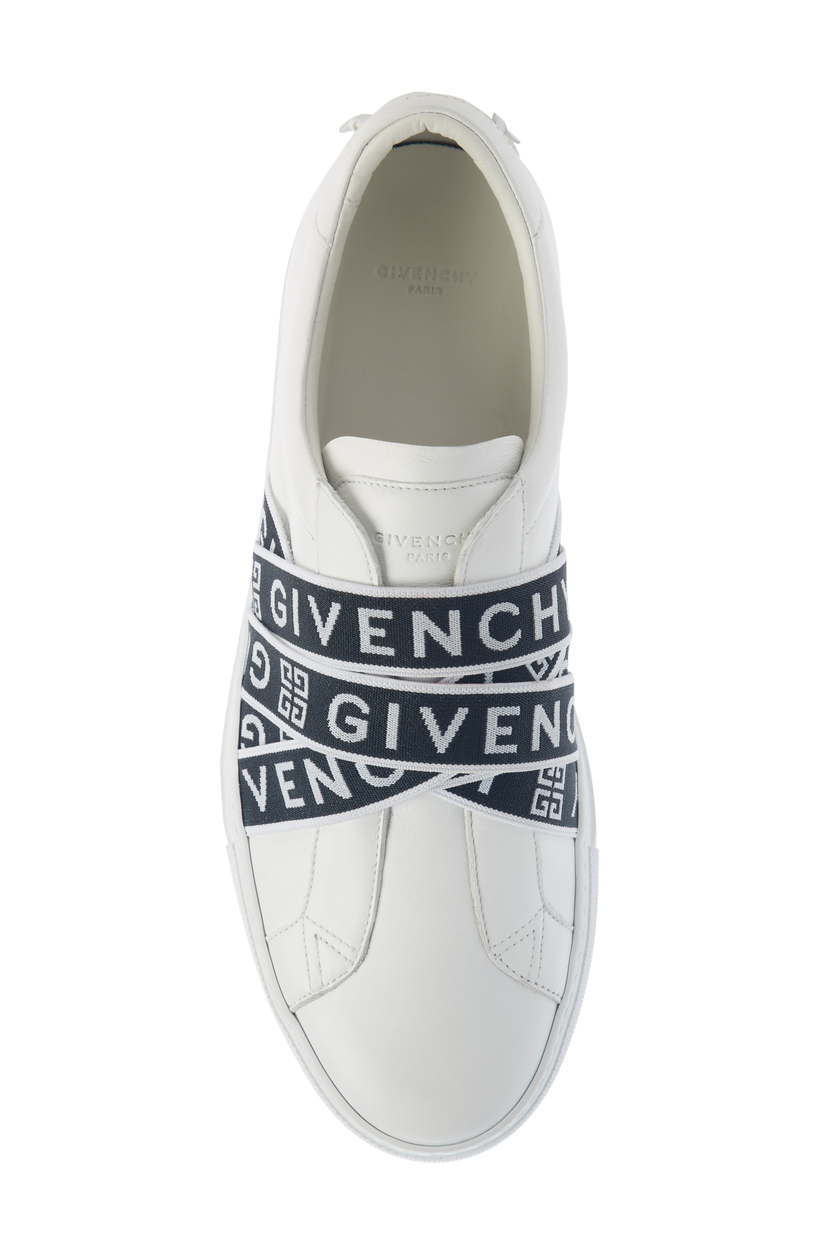 Urban Street Slip-On,                             Alternate thumbnail 4, color,                             WHITE/ BLACK