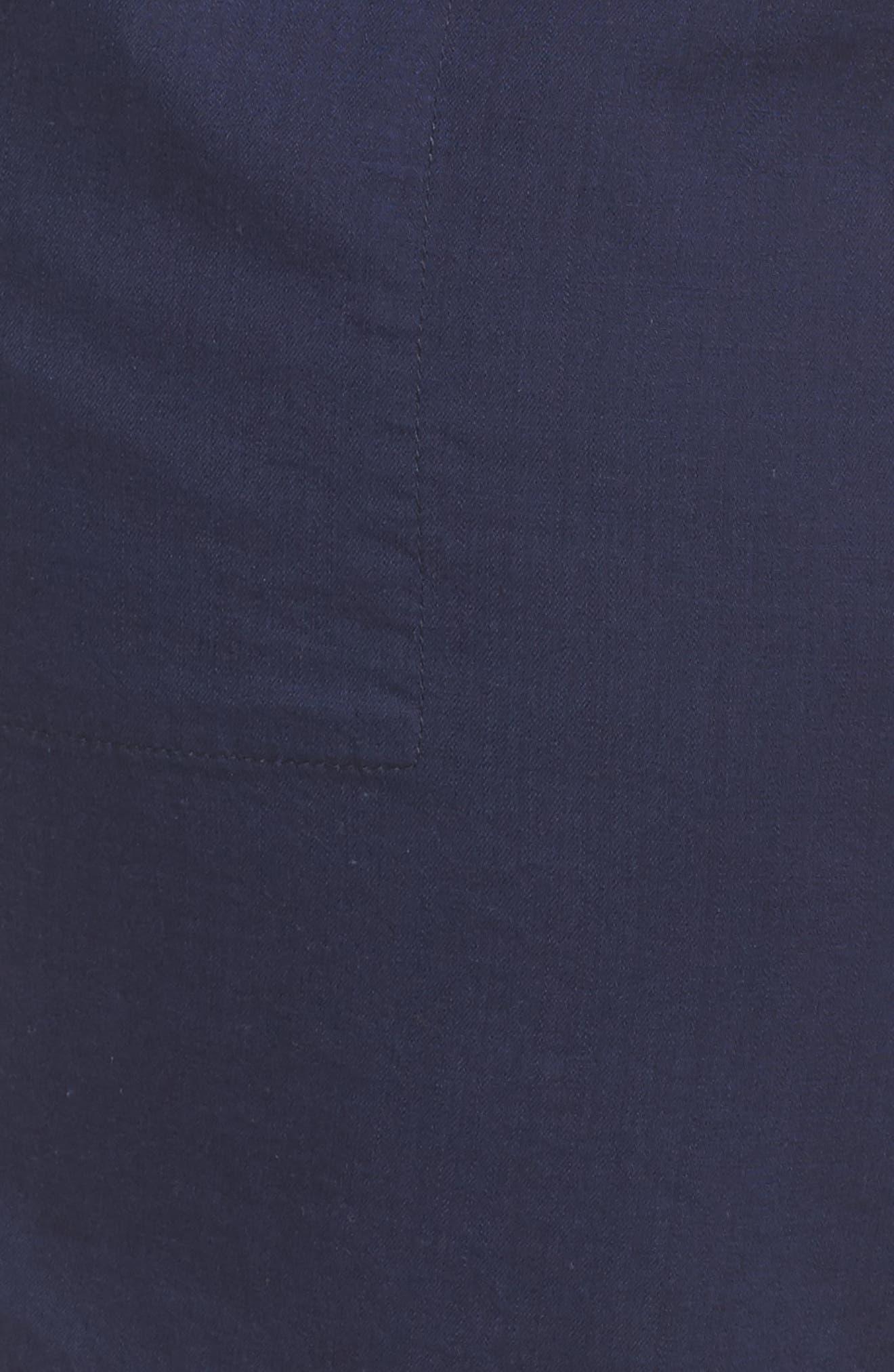 Pull-On Twill Shorts,                             Alternate thumbnail 6, color,                             NAVY PEACOAT