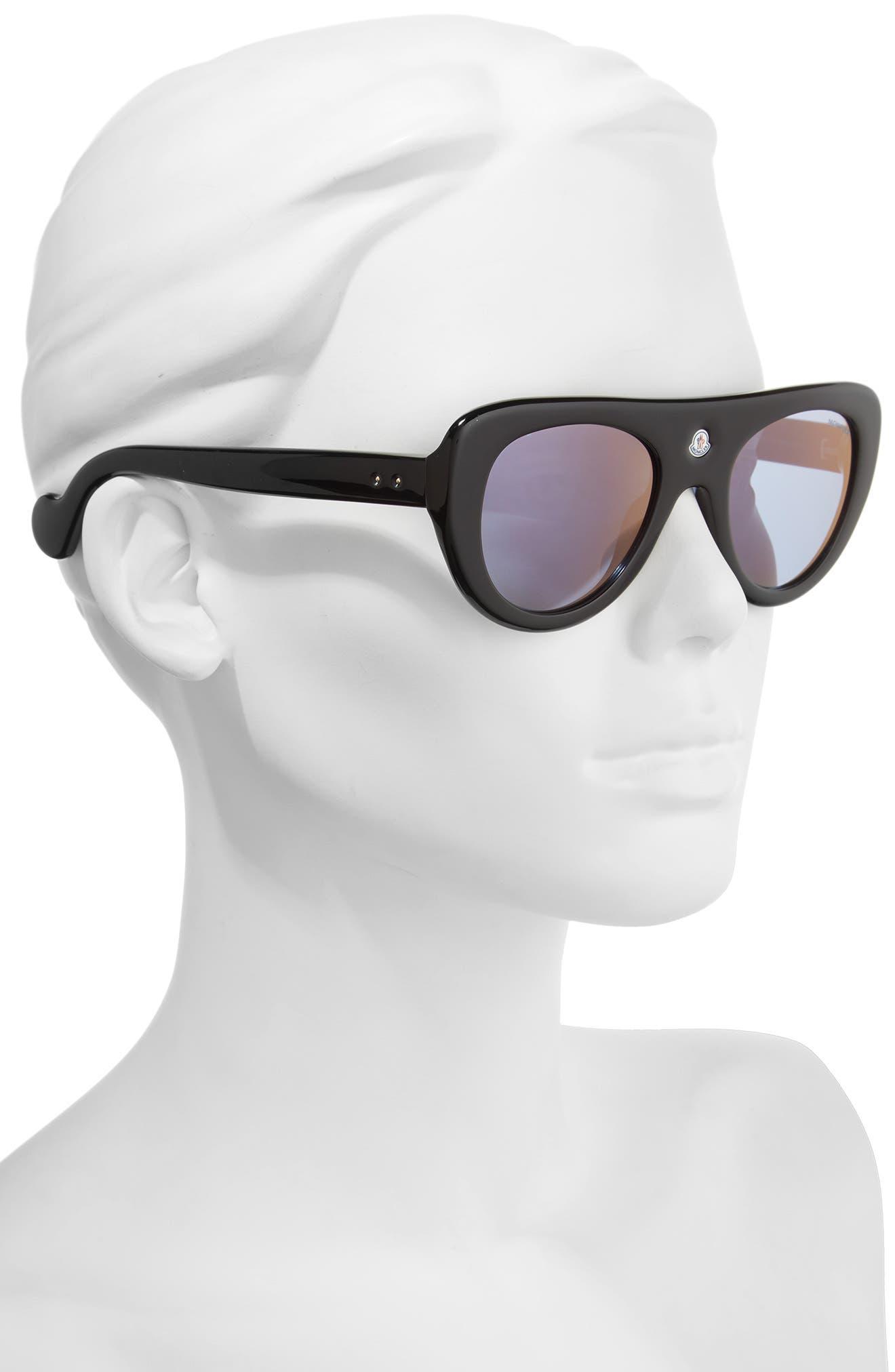51mm Shield Sunglasses,                             Alternate thumbnail 2, color,                             001