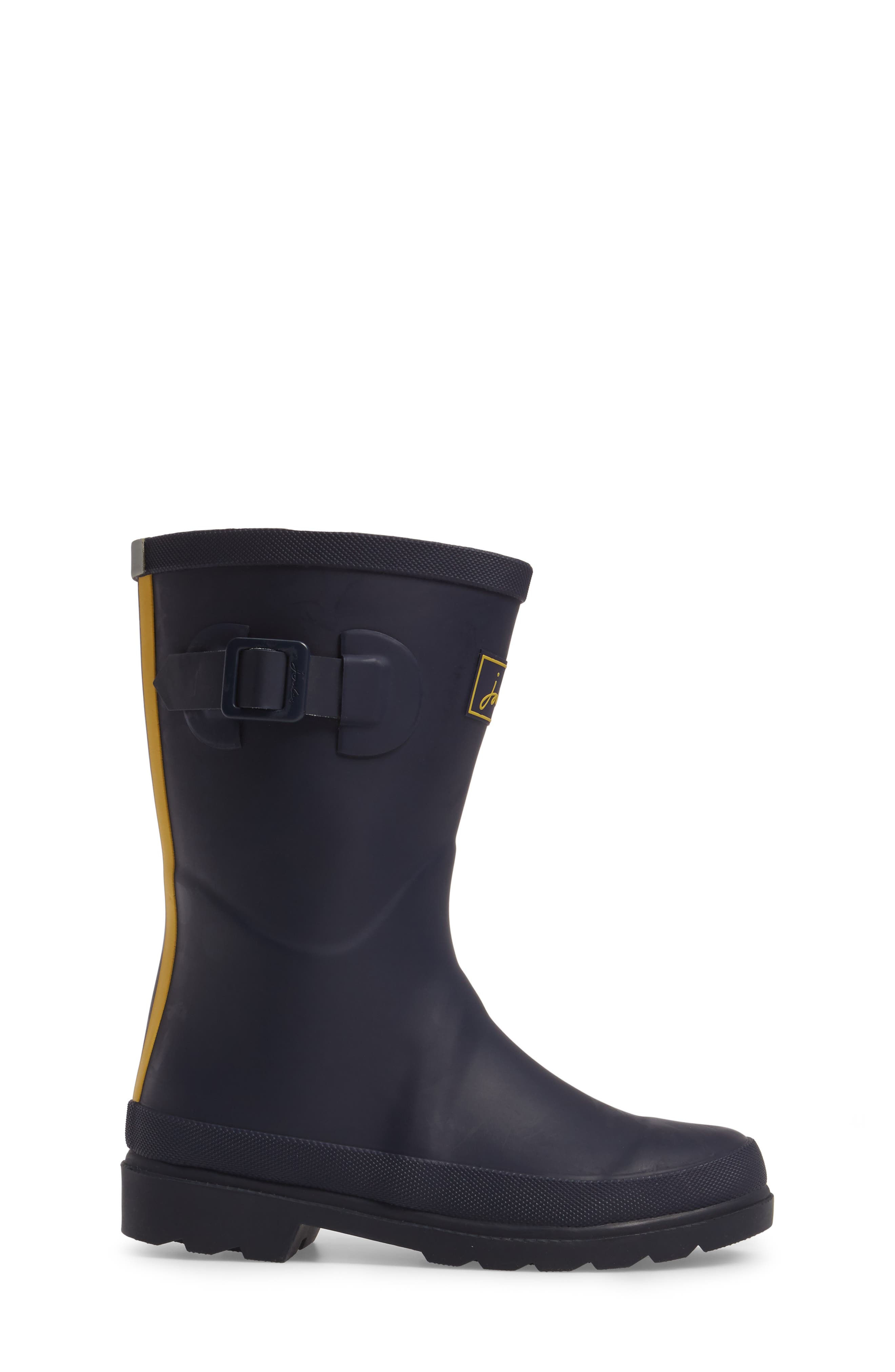 Mid Calf Matte Welly,                             Alternate thumbnail 3, color,                             410