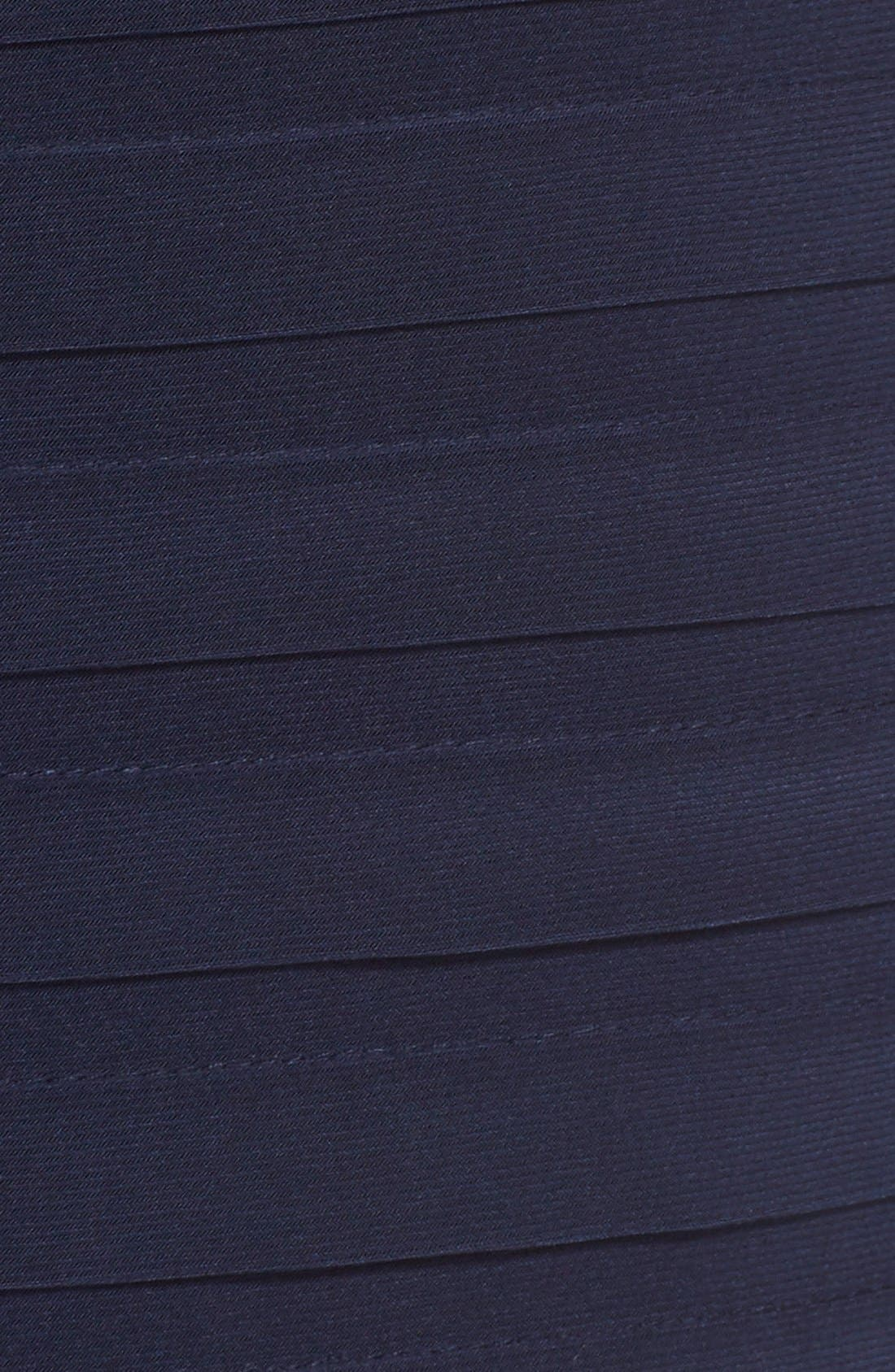Chiffon & Jersey Sheath Dress,                             Alternate thumbnail 12, color,                             408