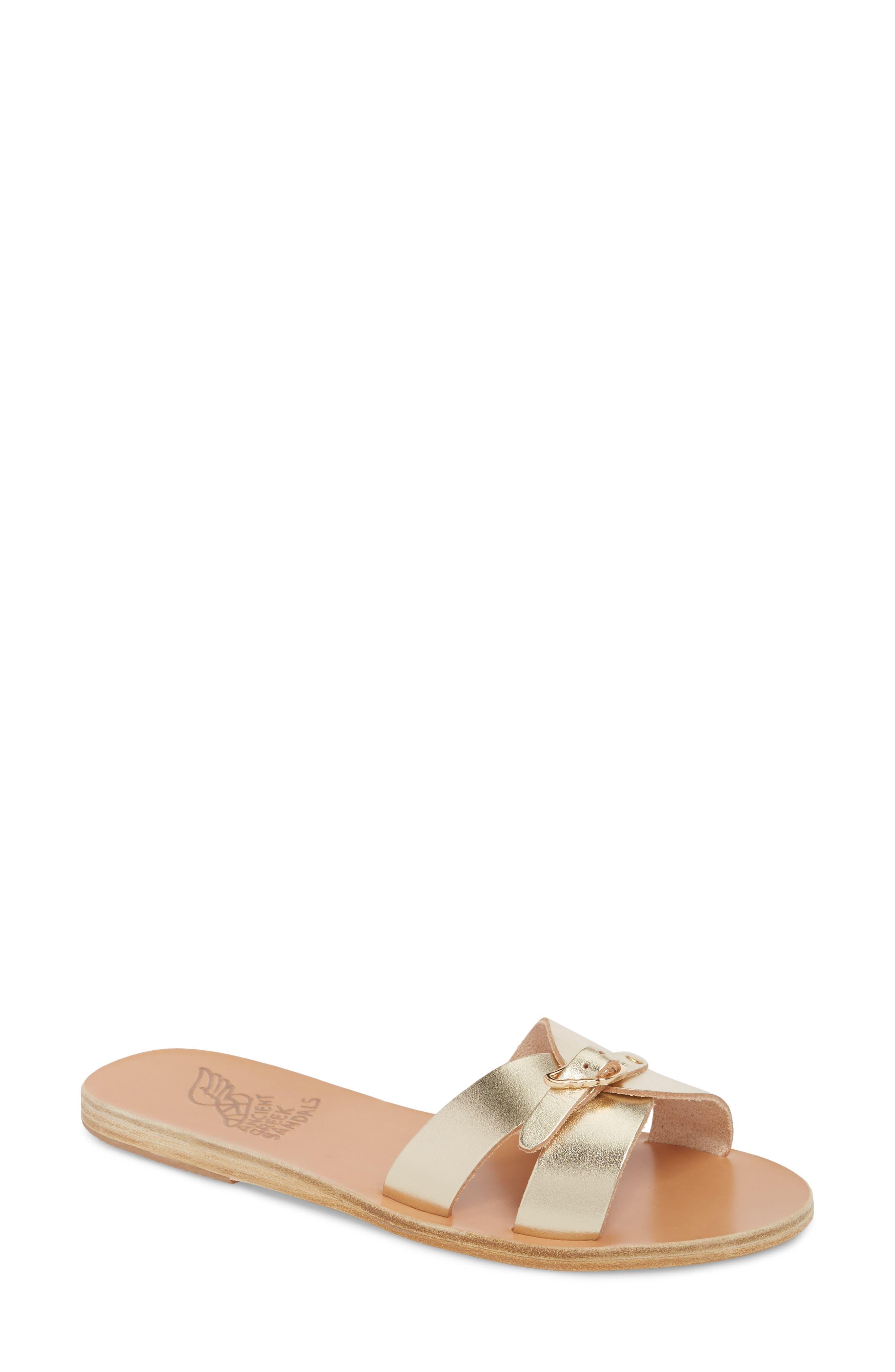 Ancient Greek Sandals Anna Sandal, Grey