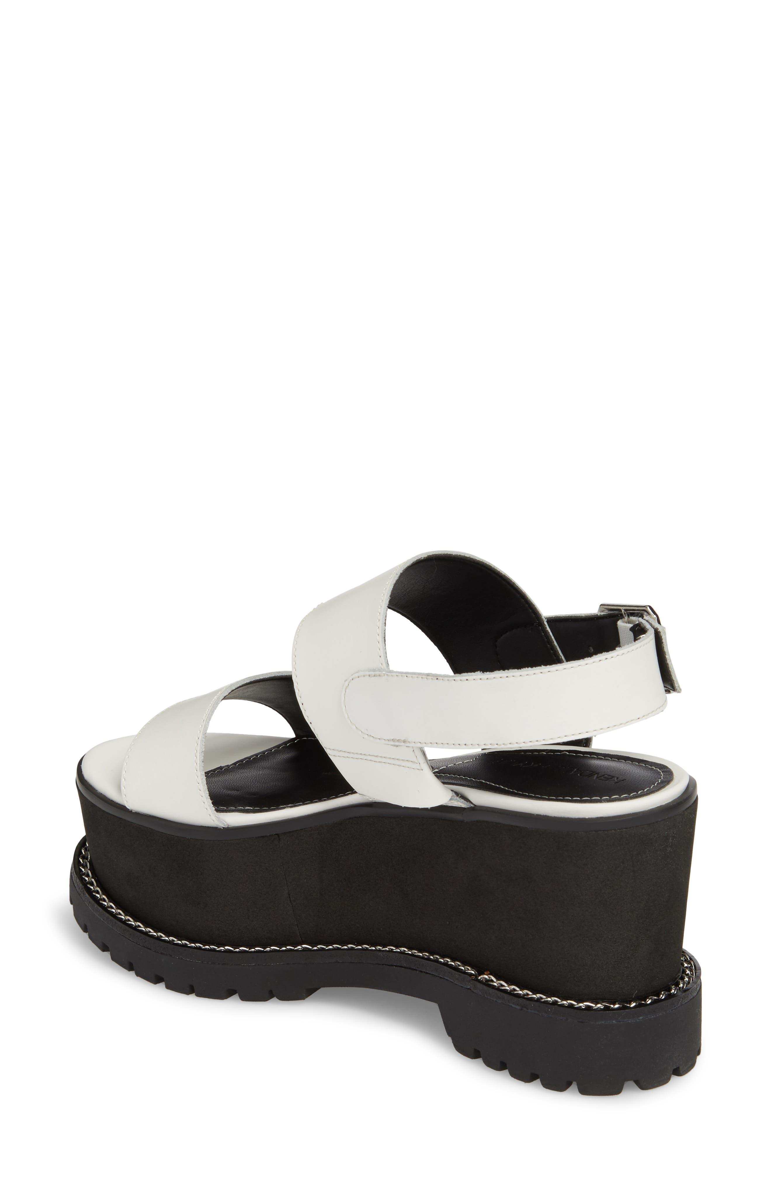 Cady Platform Sandal,                             Alternate thumbnail 4, color,