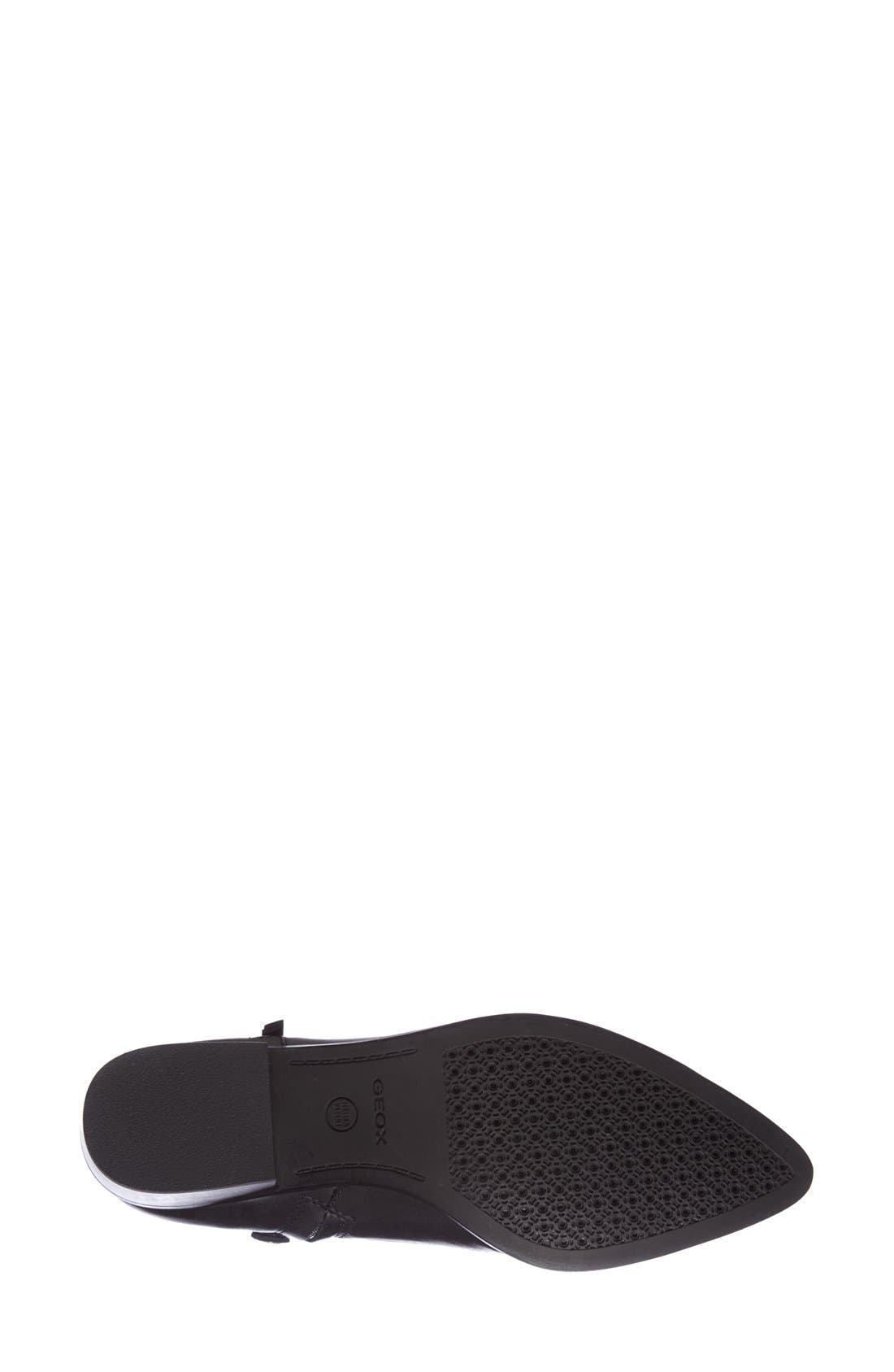 GEOX,                             'Lia' Ankle Boot,                             Alternate thumbnail 3, color,                             001