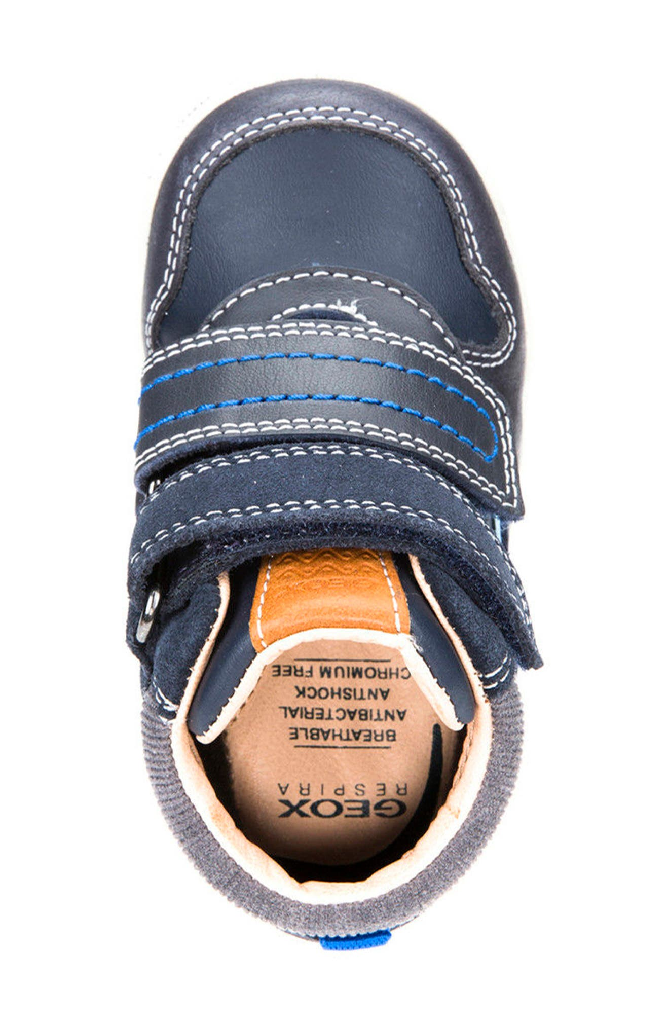 New Flick Mid Top Sneaker,                             Alternate thumbnail 5, color,                             002