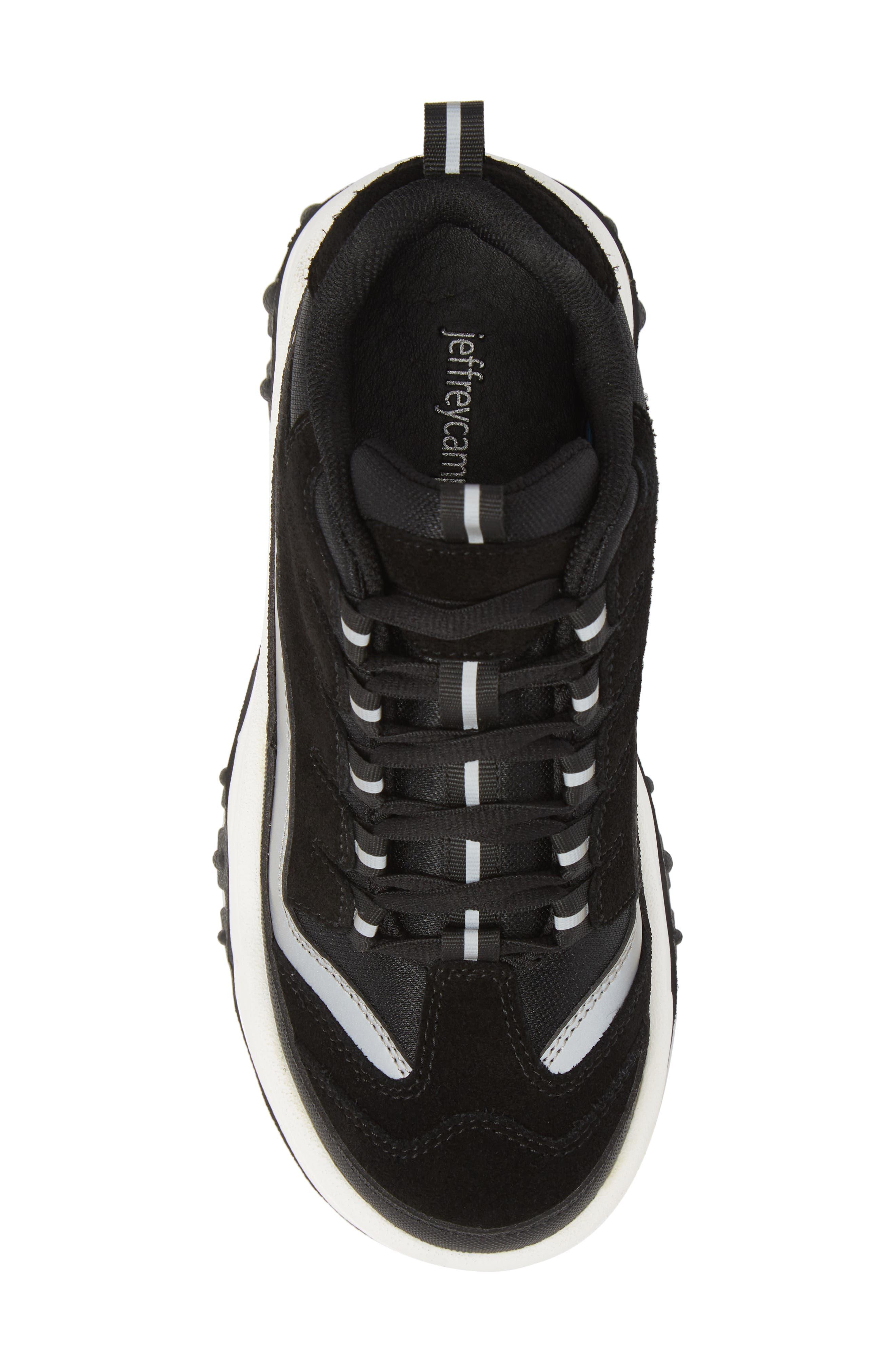 Pro Era Platform Sneaker,                             Alternate thumbnail 5, color,                             BLACK SUEDE REFLECTIVE