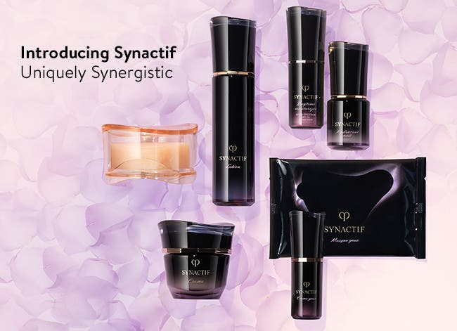 Introducing Clé de Peau Beauté Synactif skin care.