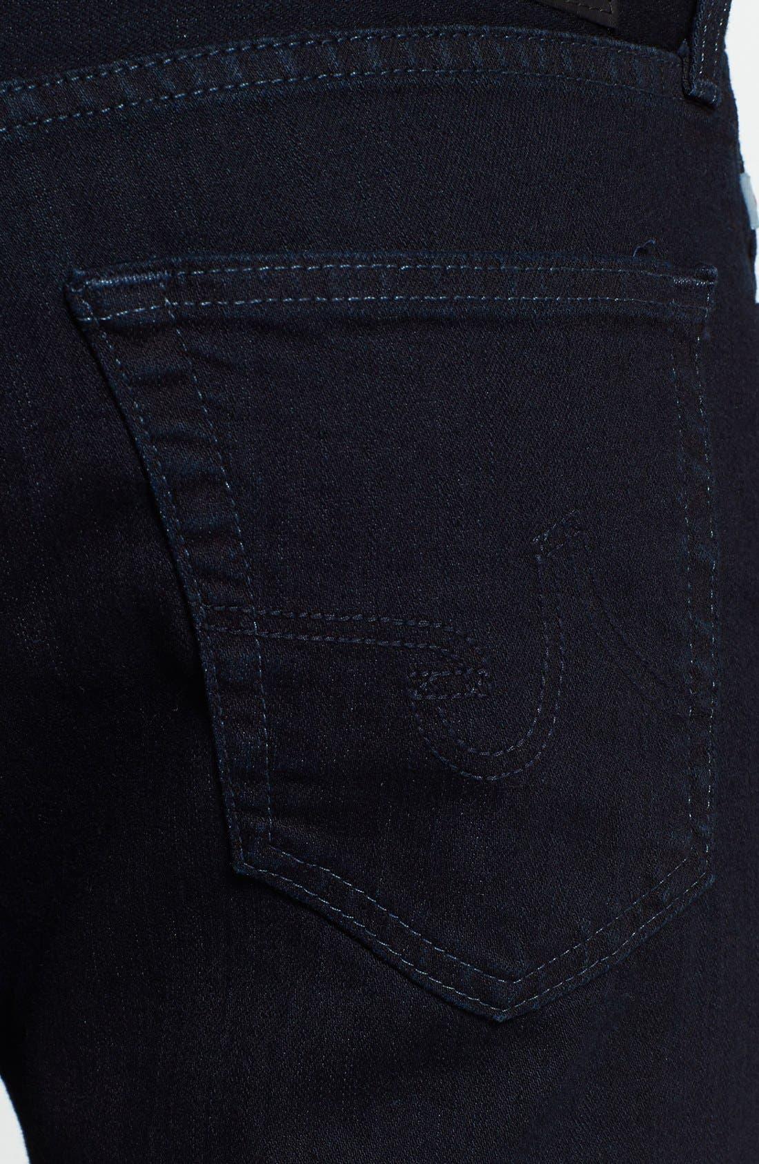 'Graduate' Tailored Fit Straight Leg Jeans,                             Alternate thumbnail 3, color,                             409