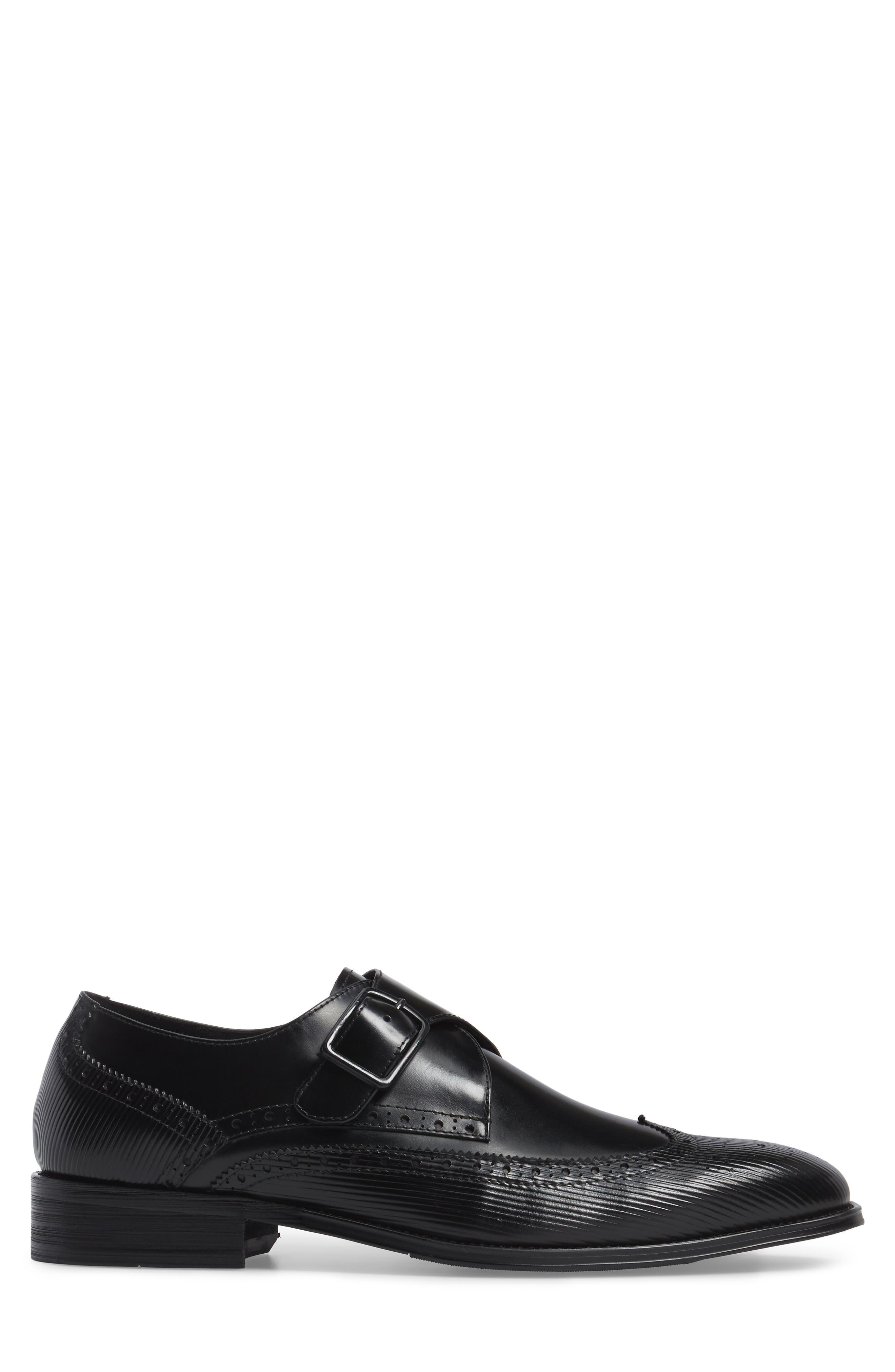 Design Monk Strap Shoe,                             Alternate thumbnail 5, color,