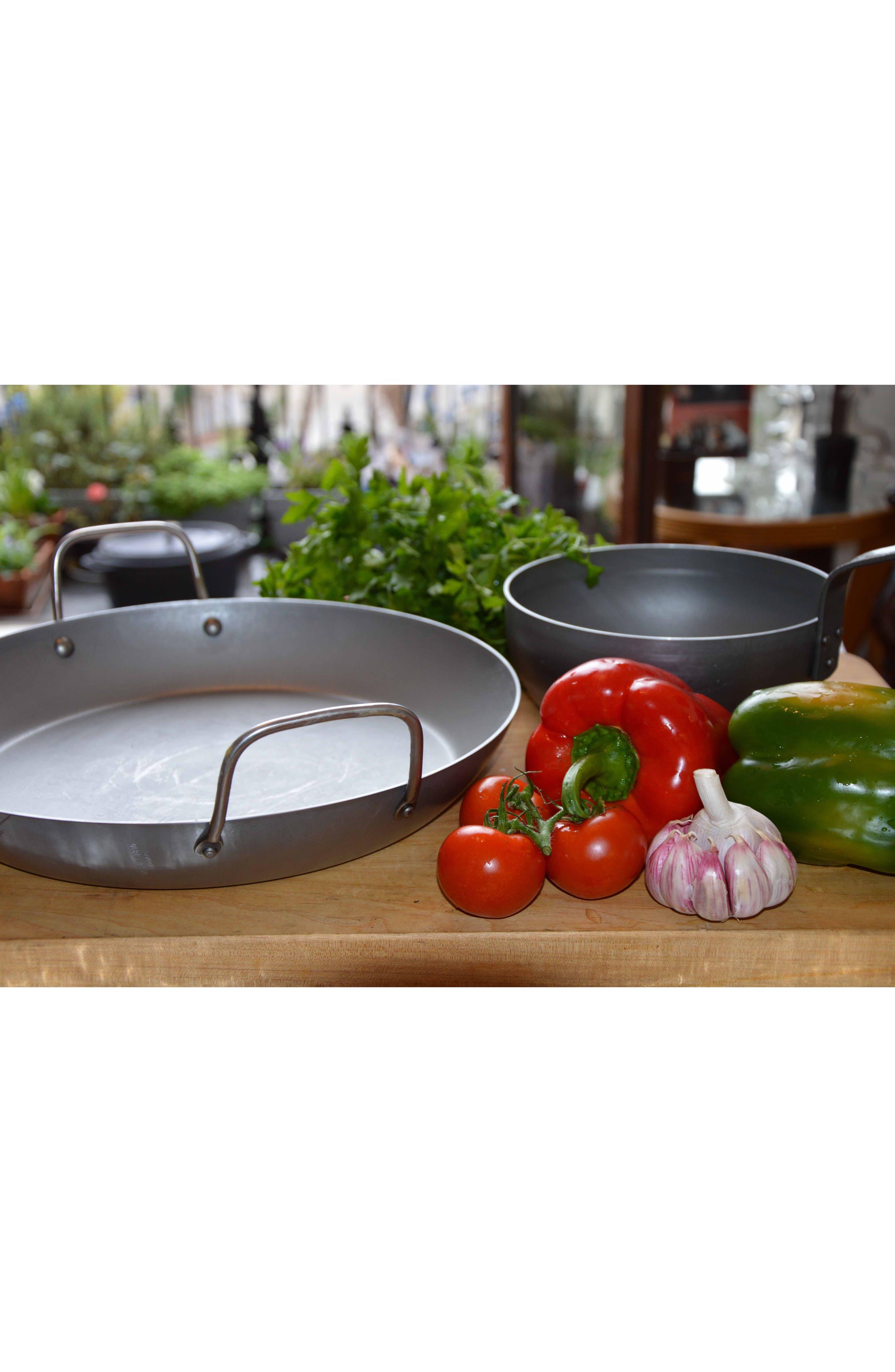M'steel Carbon Steel Paella Pan,                             Alternate thumbnail 2, color,                             STEEL