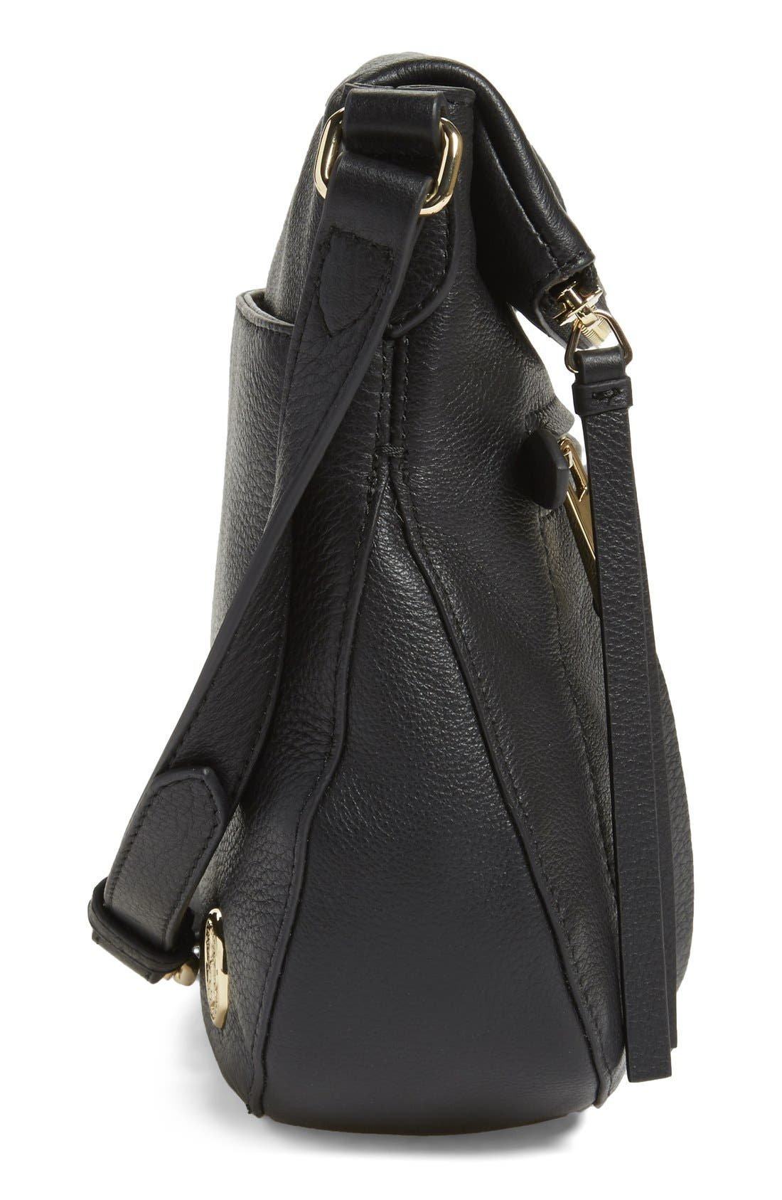 'Tala' Leather Crossbody Bag,                             Alternate thumbnail 24, color,