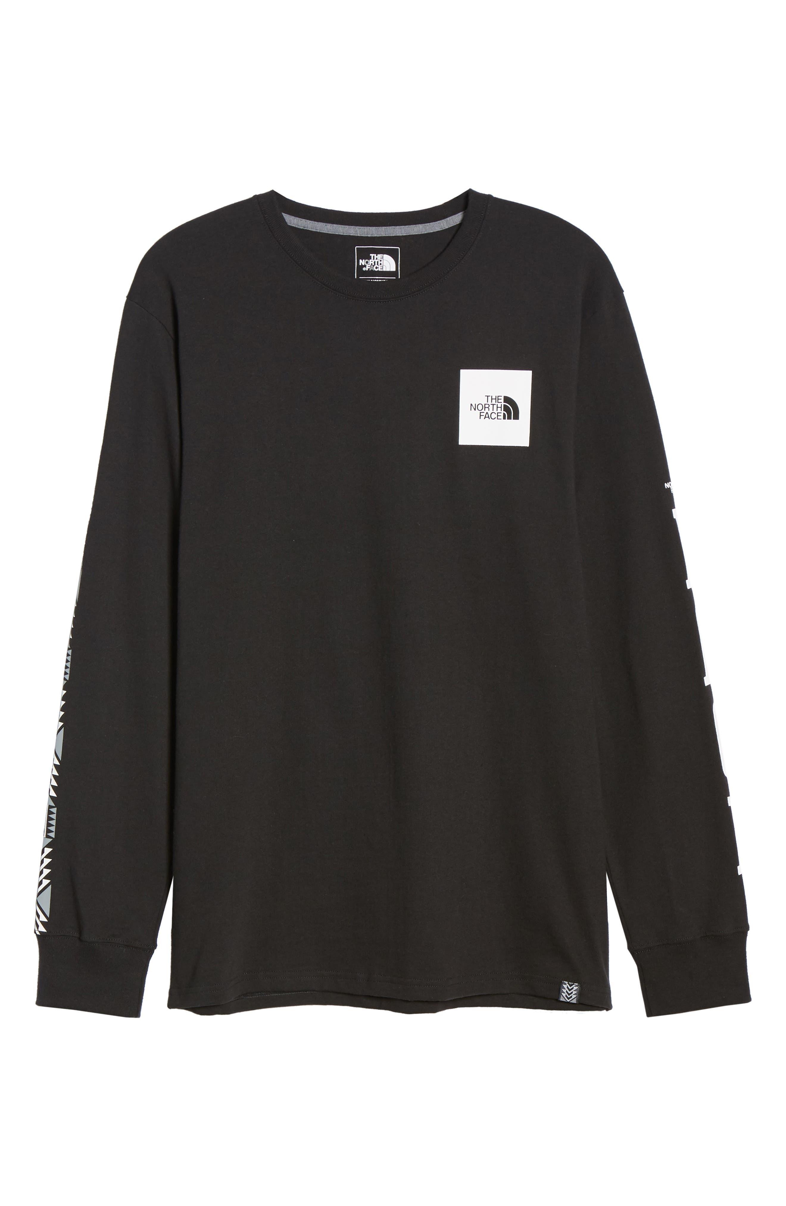 1992 Rage Collection T-Shirt,                             Alternate thumbnail 6, color,                             TNF BLACK