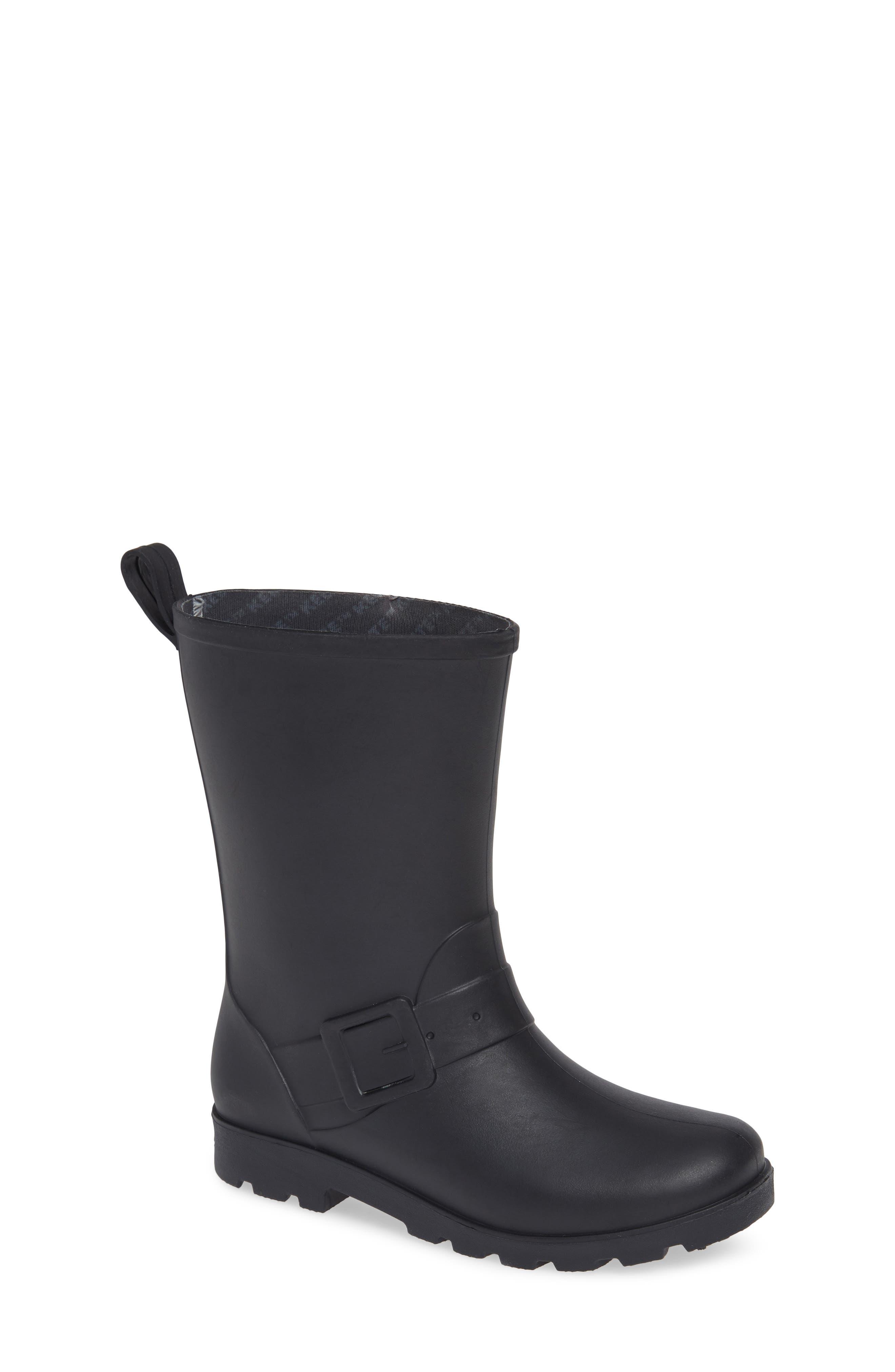 Native Barnett Rain Boot,                         Main,                         color, JIFFY BLACK