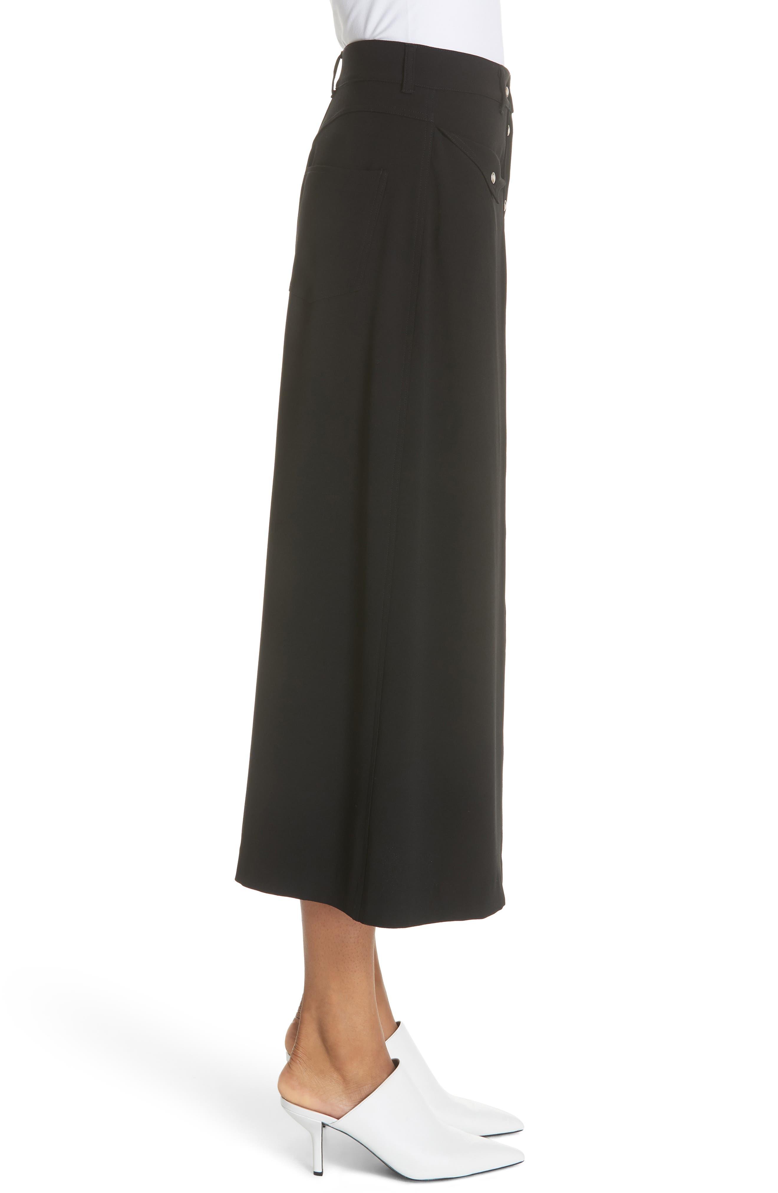 Meida Midi Skirt,                             Alternate thumbnail 3, color,                             003