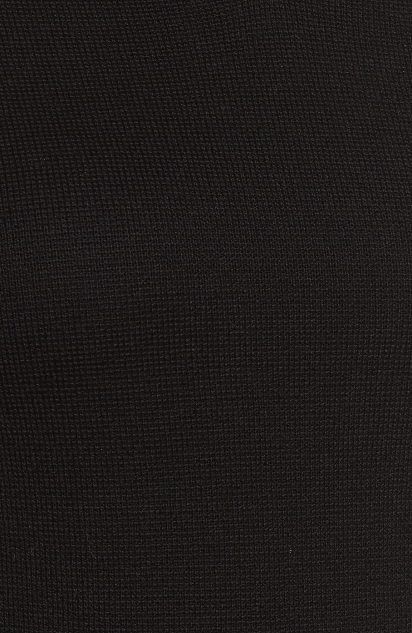 Fylle Wool Sweater,                             Alternate thumbnail 5, color,                             001