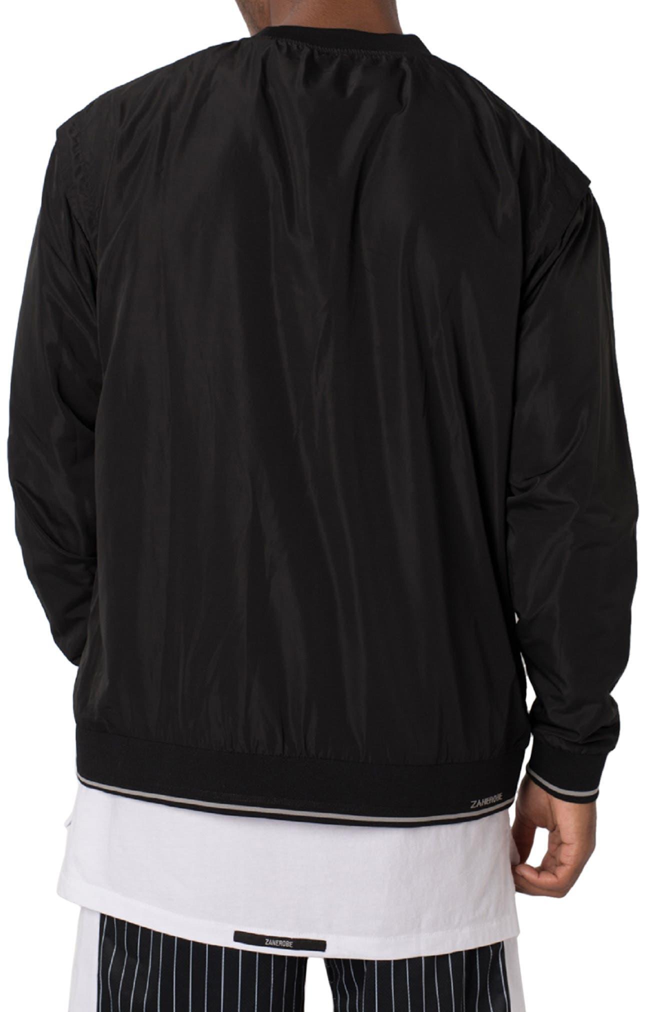 ZANEROBE,                             Jumpa Oversize Crewneck Sweatshirt,                             Alternate thumbnail 2, color,                             BLACK